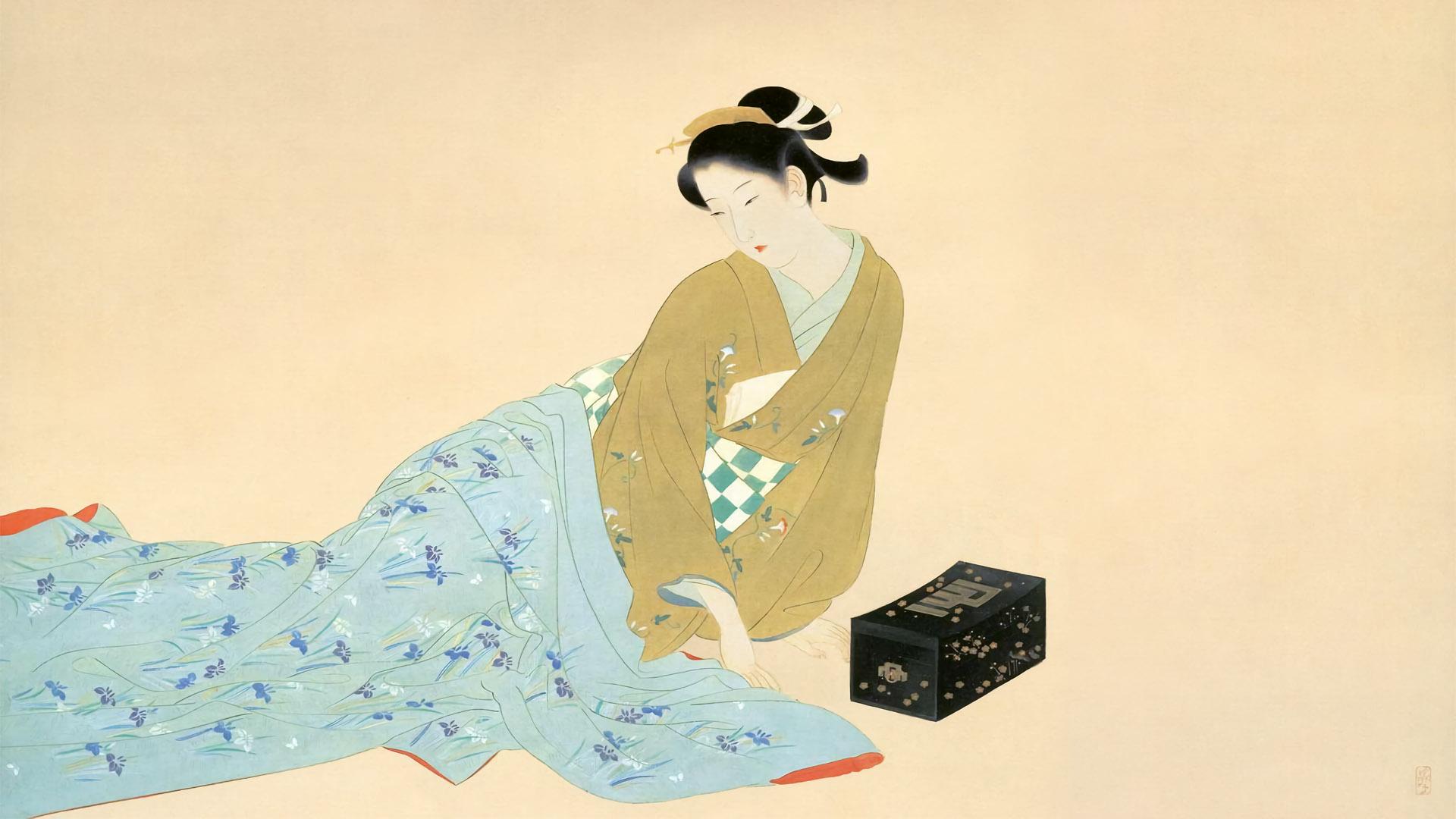 Kaburaki Kiyokata - Kyara 1920x1080