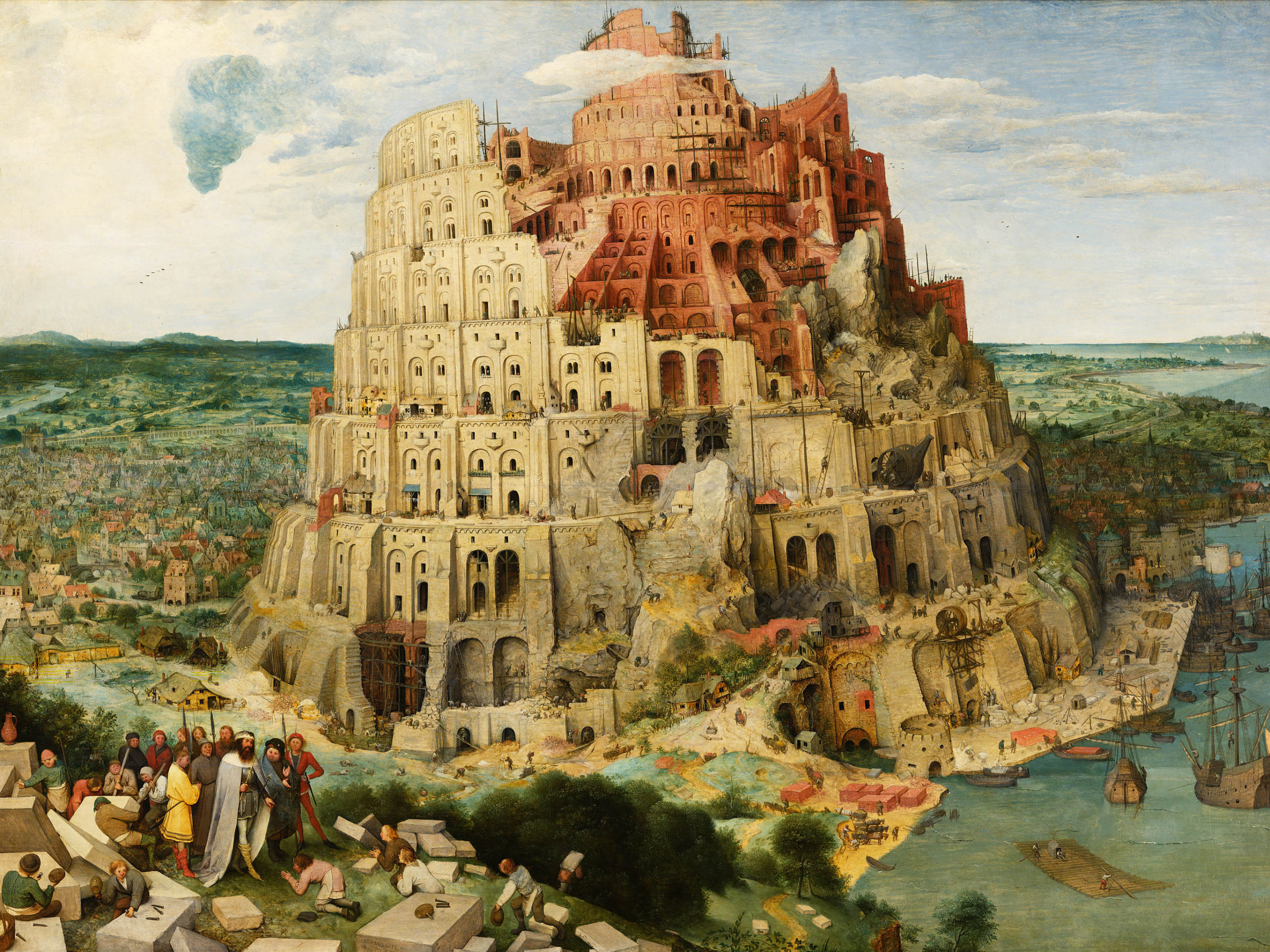 Pieter Bruegel - The Tower of Babel 2732x2048