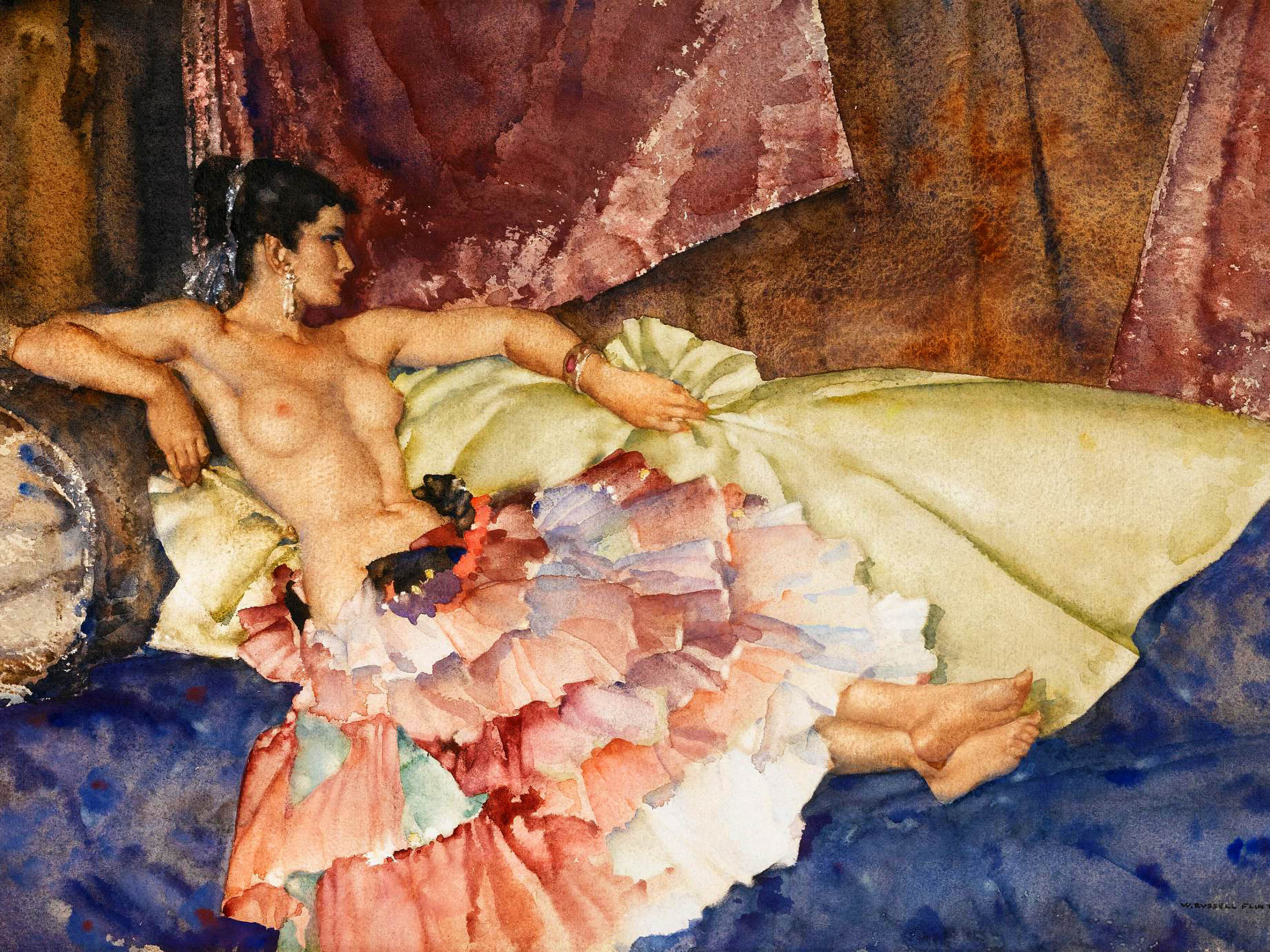 William Russell Flint - Olearia 2732x2048