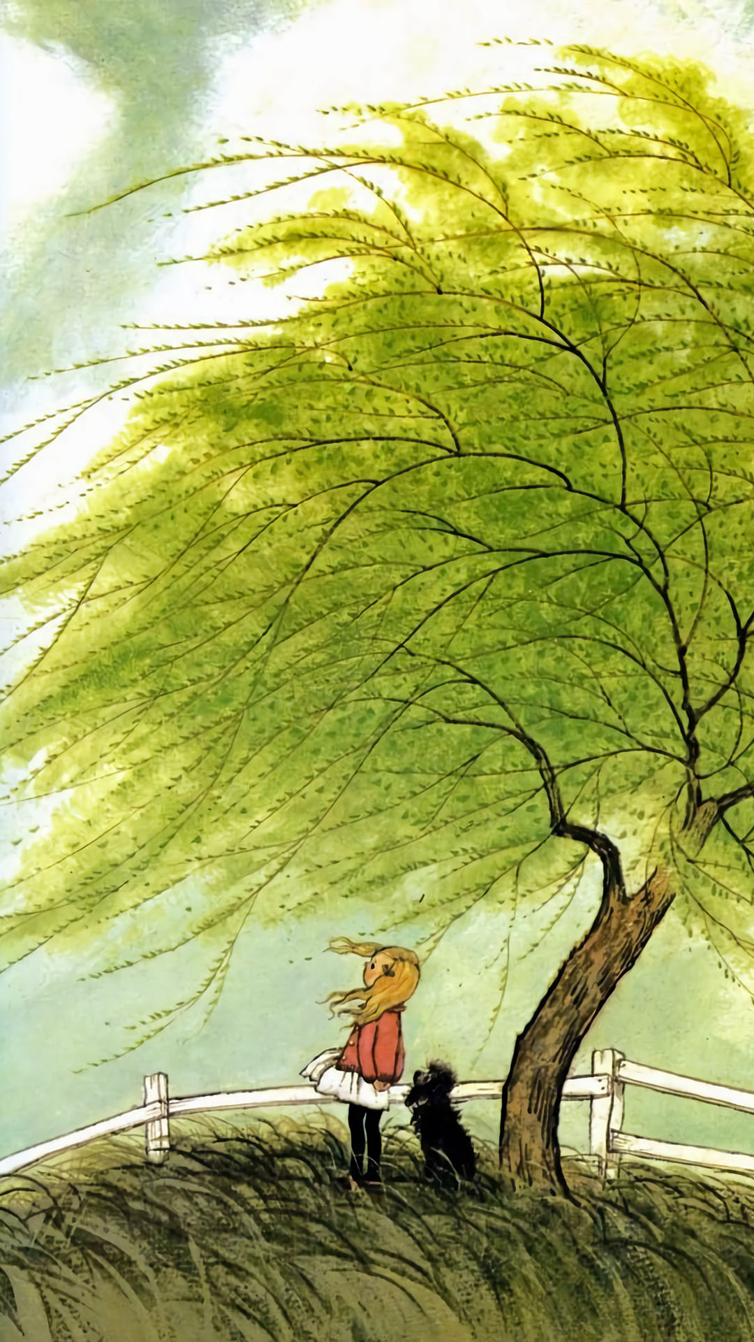 Gyo Fujikawa - from A Child's Book of Poems 1080x1920