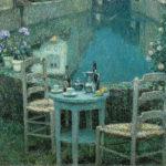 アンリ・ル・シダネル / Small Table in Evening Dusk