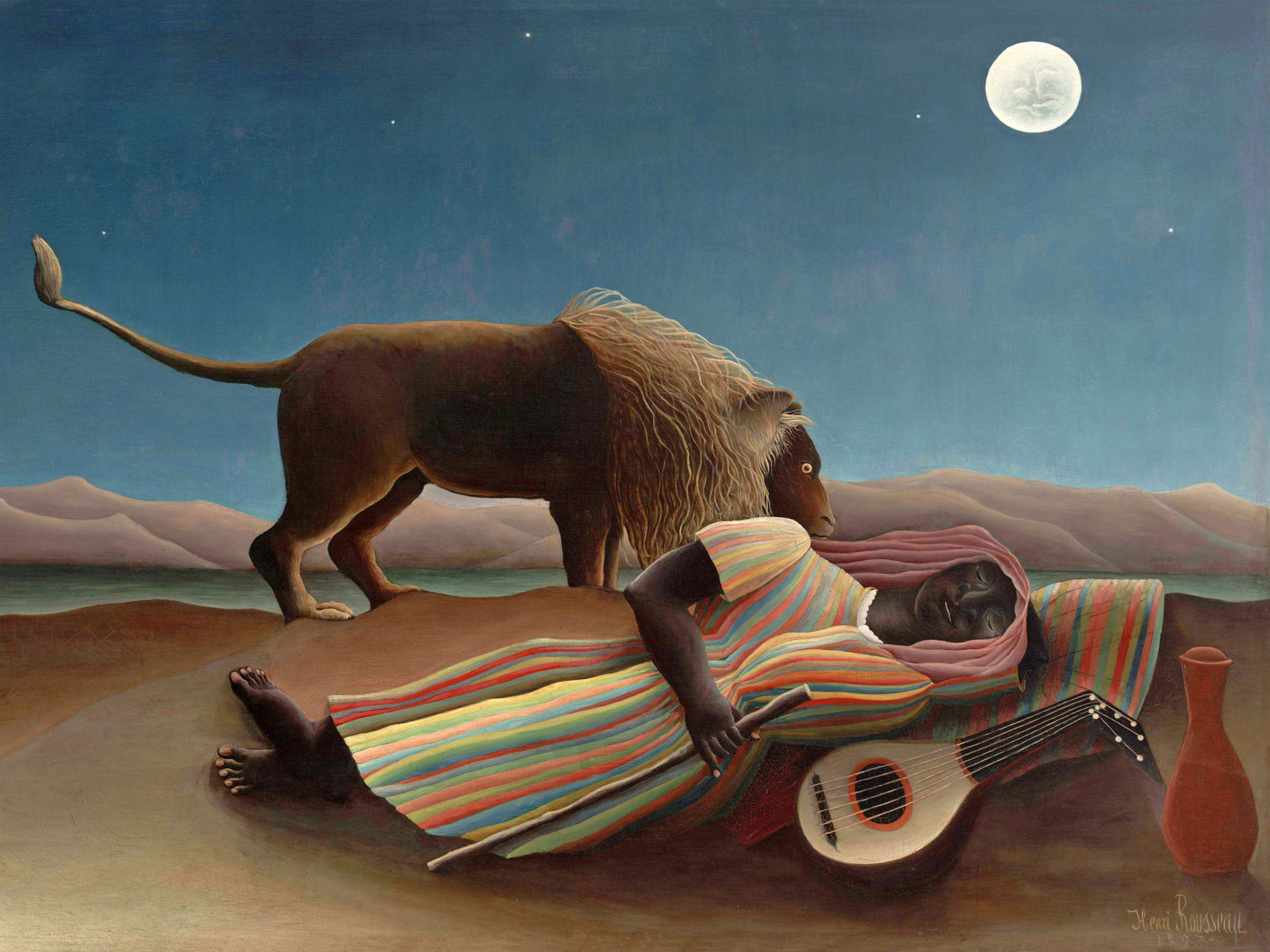Henri Rousseau - The Sleeping Gypsy 2732x2048