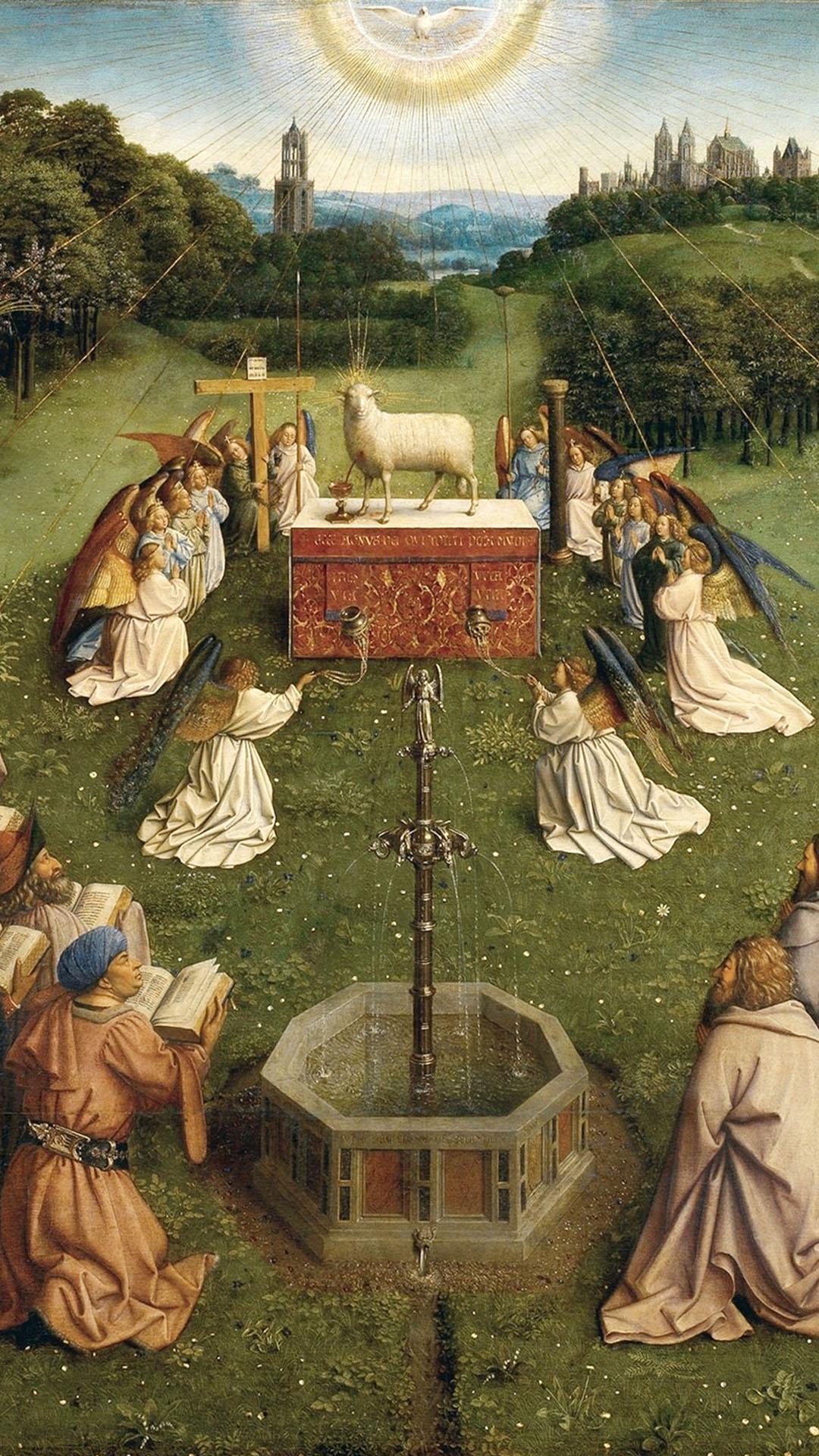 Jan van Eyck - Gents altaarstuk 1080x1920