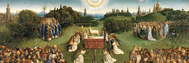 Jan van Eyck - Gents altaarstuk 1500x500