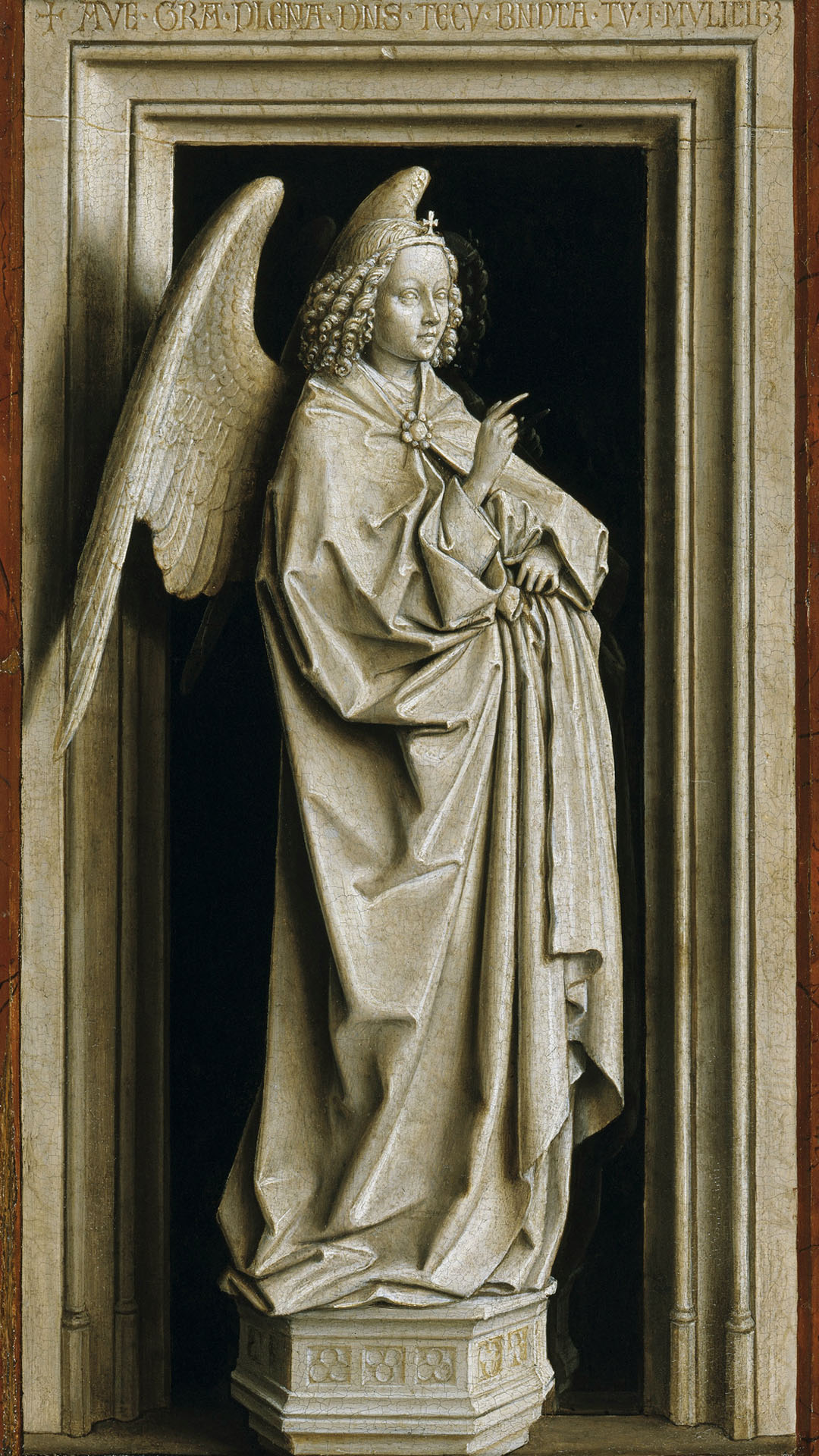 Jan van Eyck - The Annunciation Diptych 1080x1920