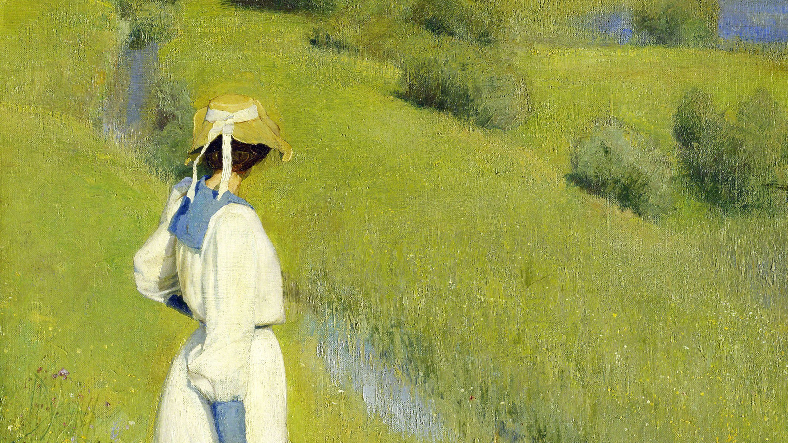 Richard Riemerschmid - In the Countryside 2560x1440