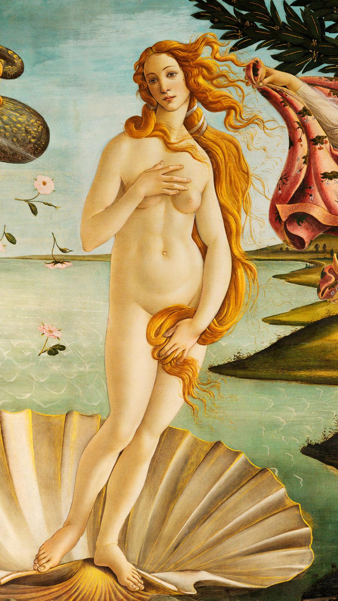 Sandro Botticelli - La nascita di Venere 1080x1920 2