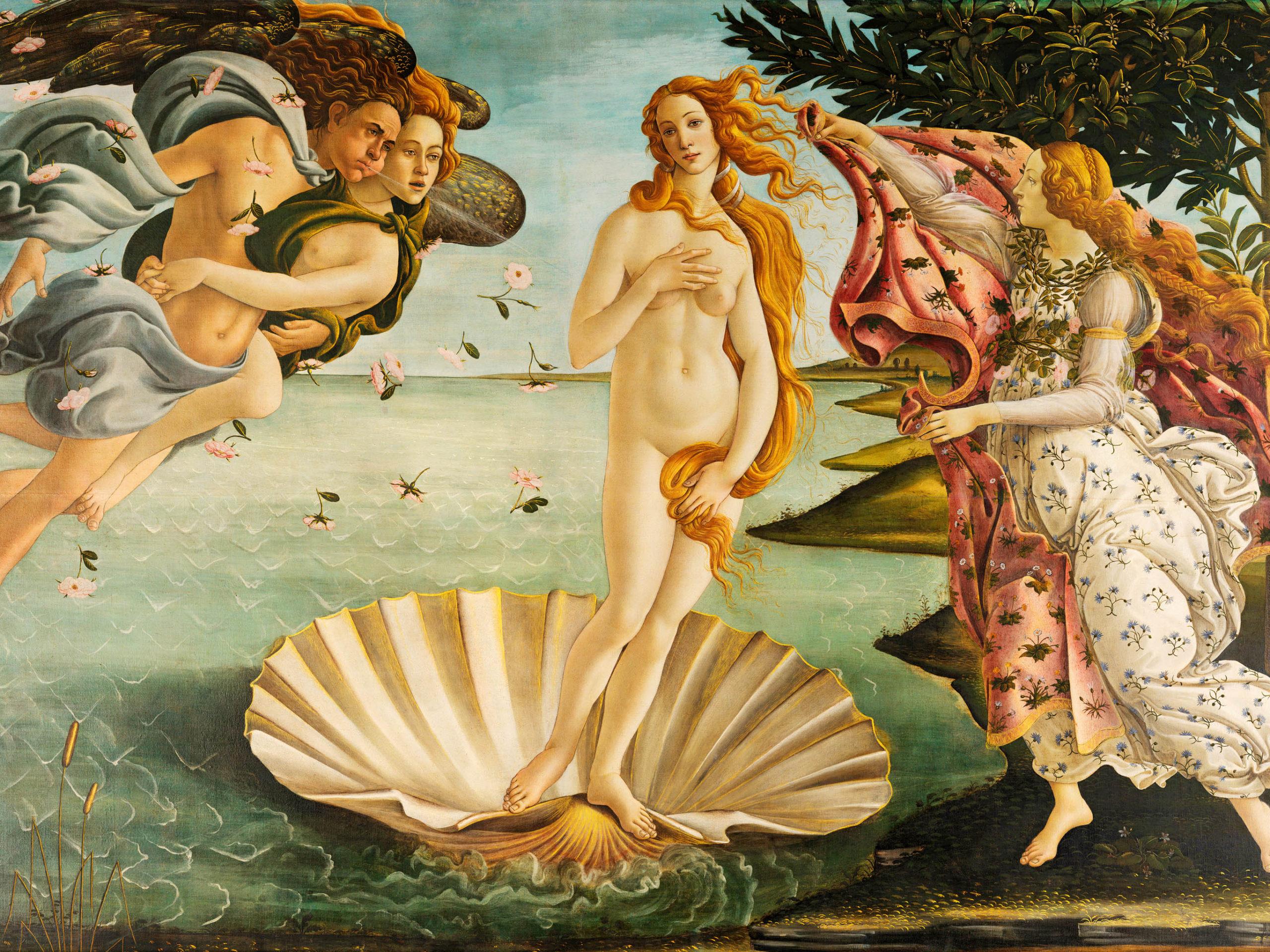 Sandro Botticelli - La nascita di Venere 2732x2048