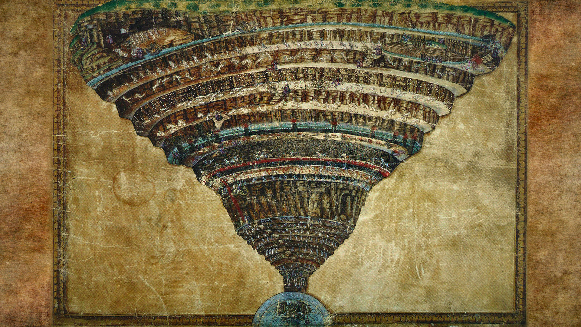 Sandro Botticelli Map of hell 1920x1080 2