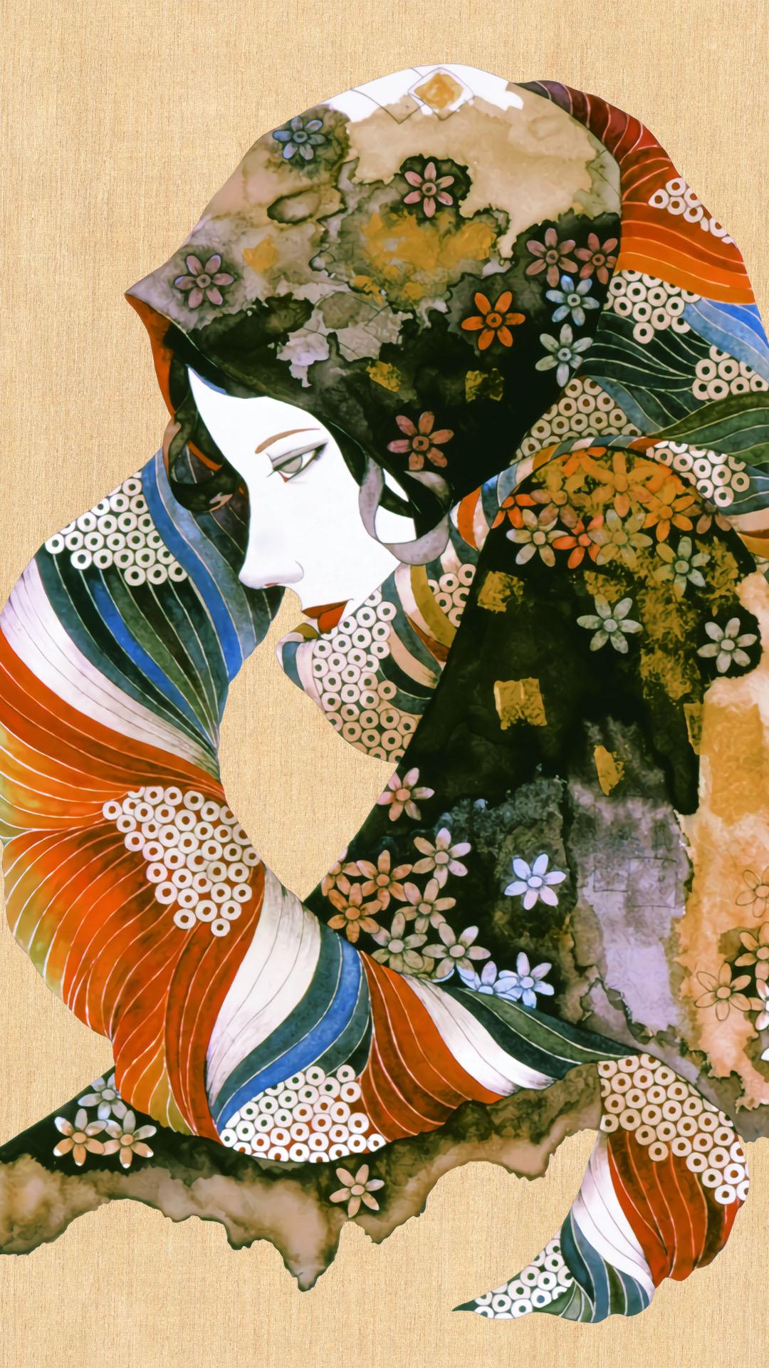 Yonekura Masakane Hana no scarf wo sita onna 1080x1920 2
