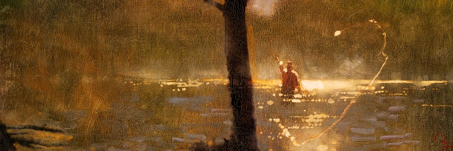 Bernie Fuchs - Fly Fishing 1500x500