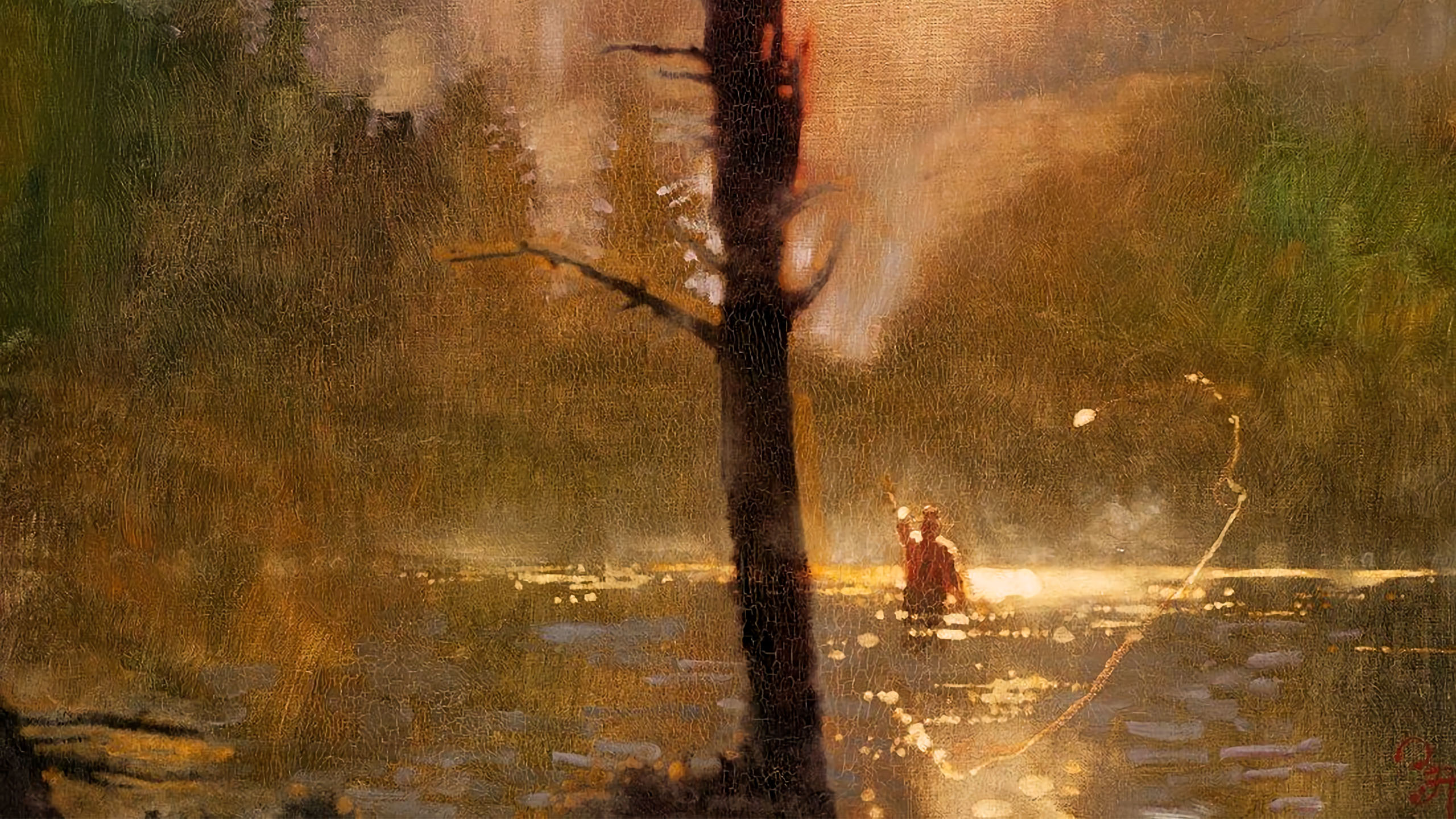 Bernie Fuchs - Fly Fishing 2560x1440