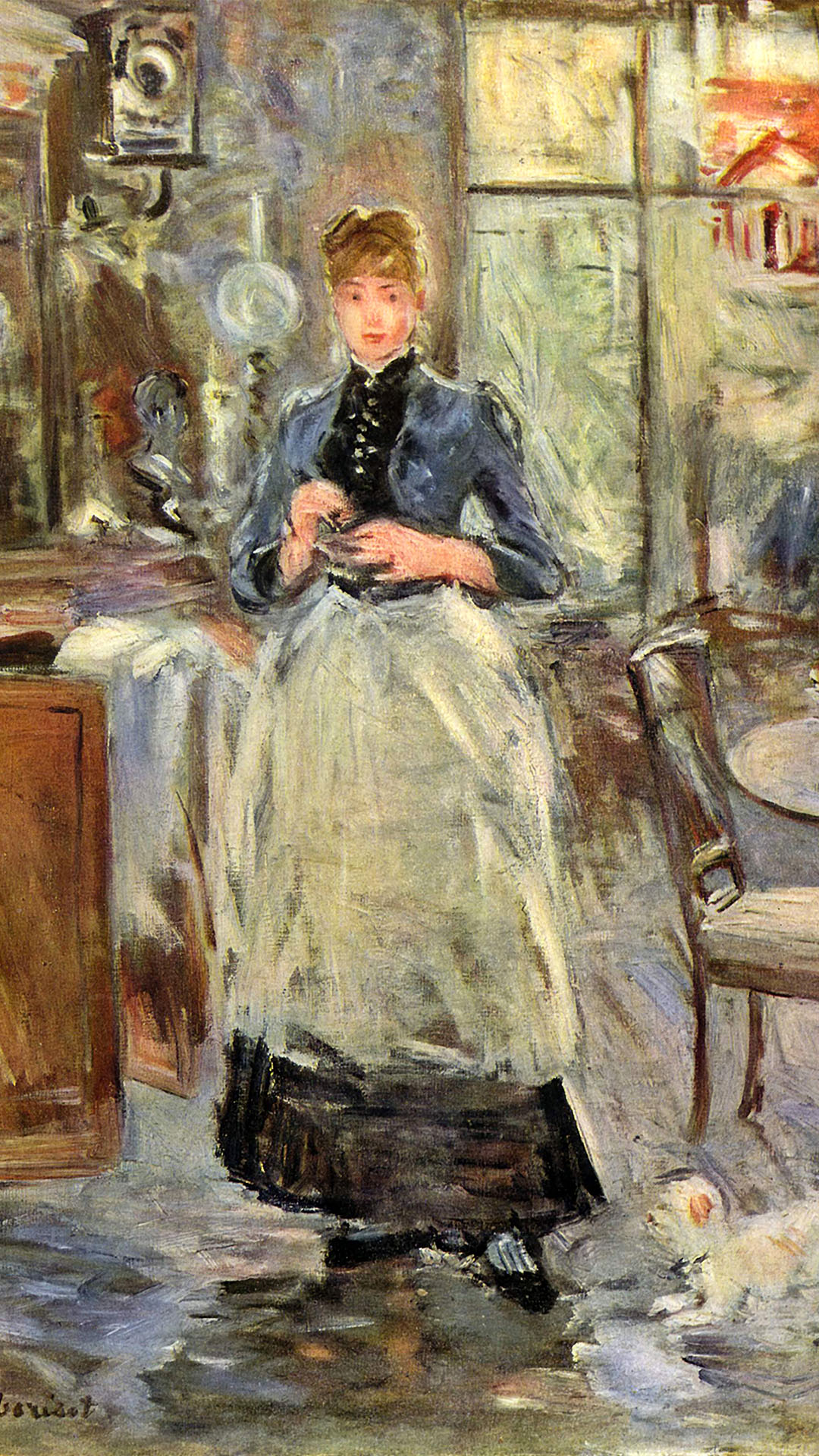 Berthe Morisot - In the Dining Room 1080x1920