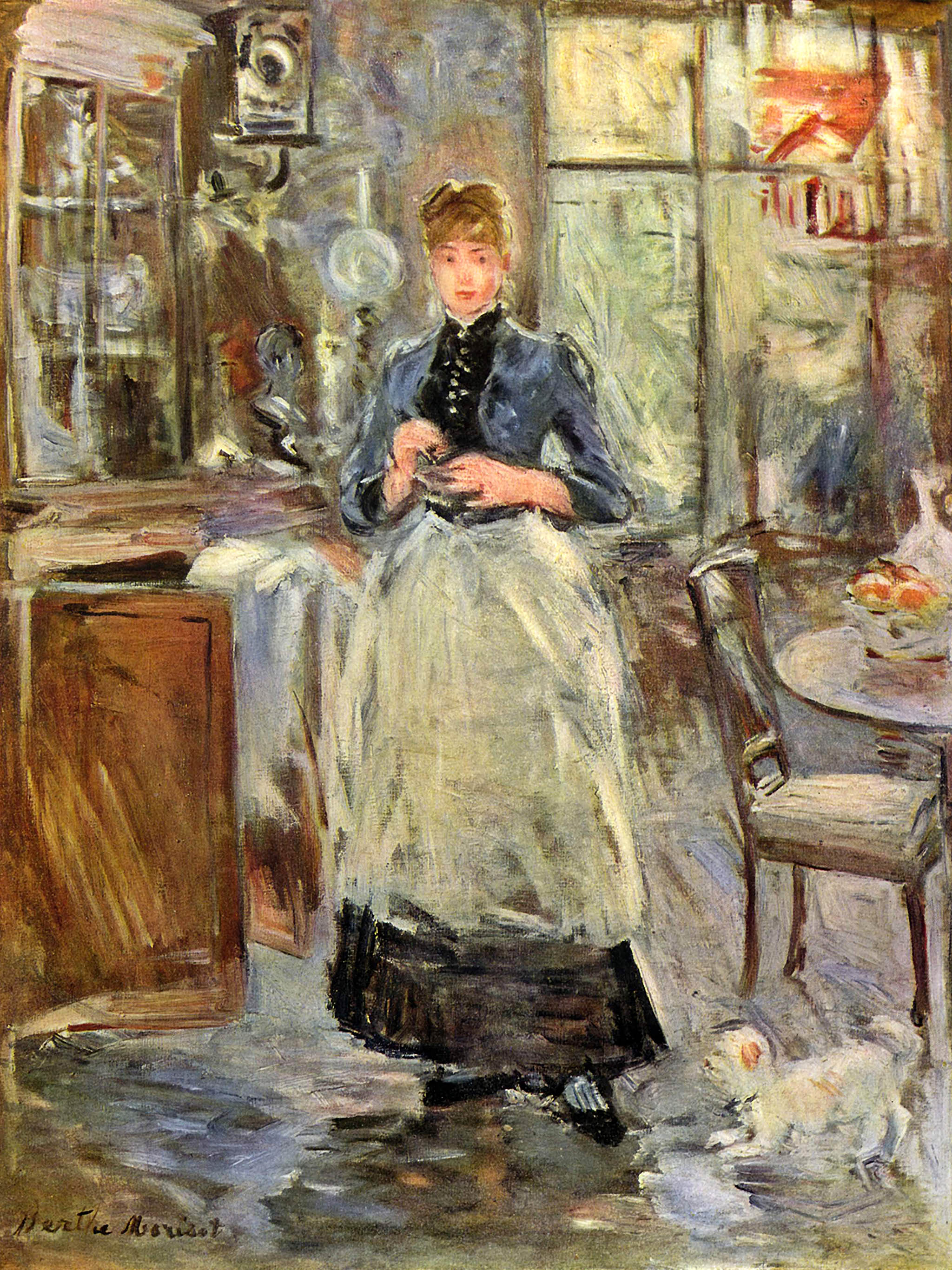 Berthe Morisot - In the Dining Room 2048x2732