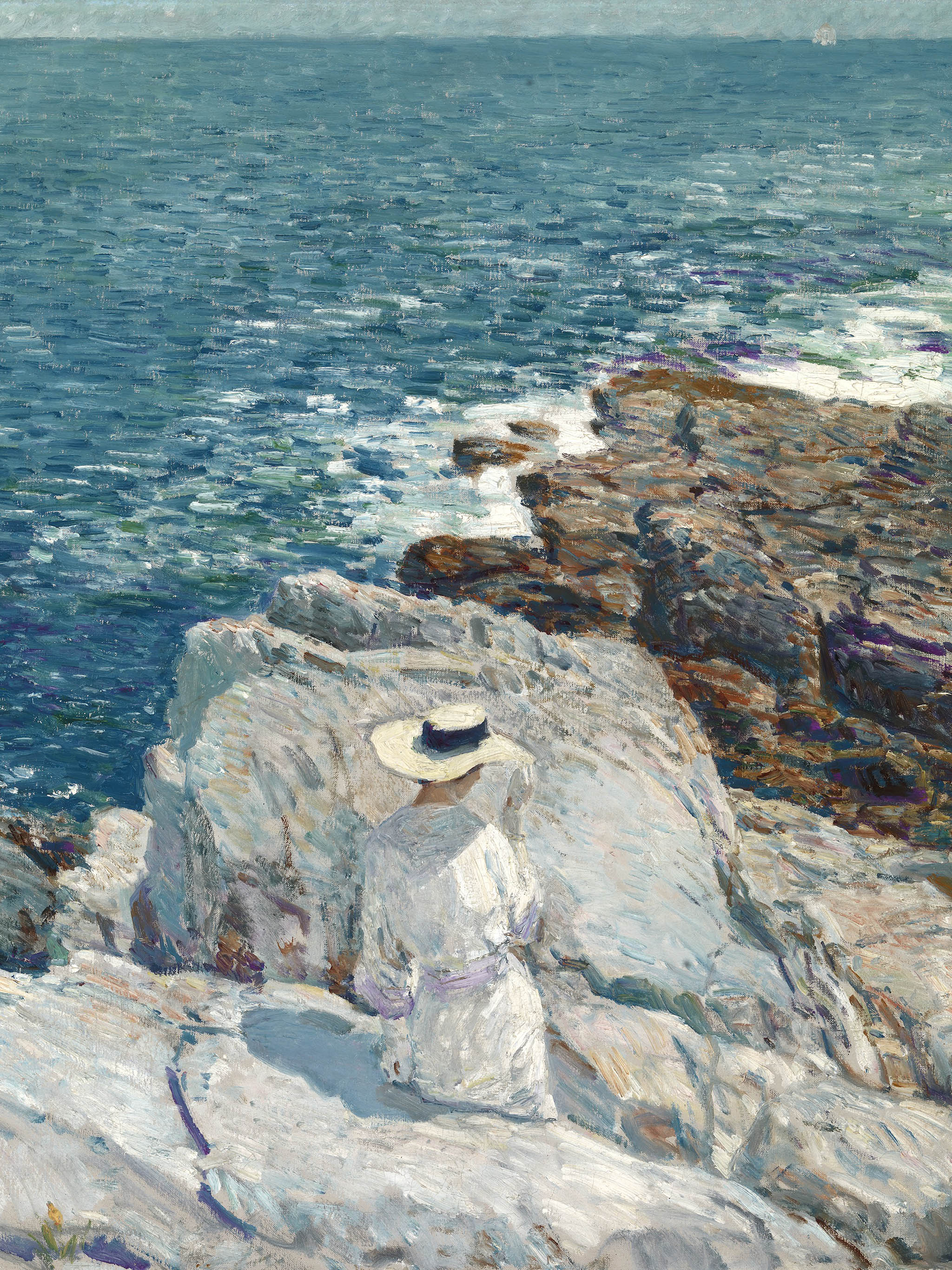 Childe Hassam - The South Ledges, Appledore 2048x2732