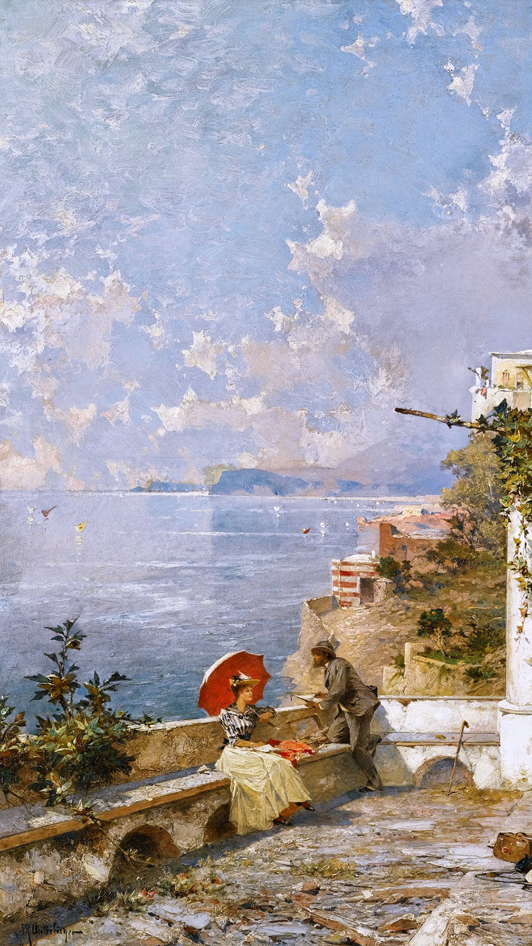 Franz Richard Unterberger - Amalfi Coast 1080x1920