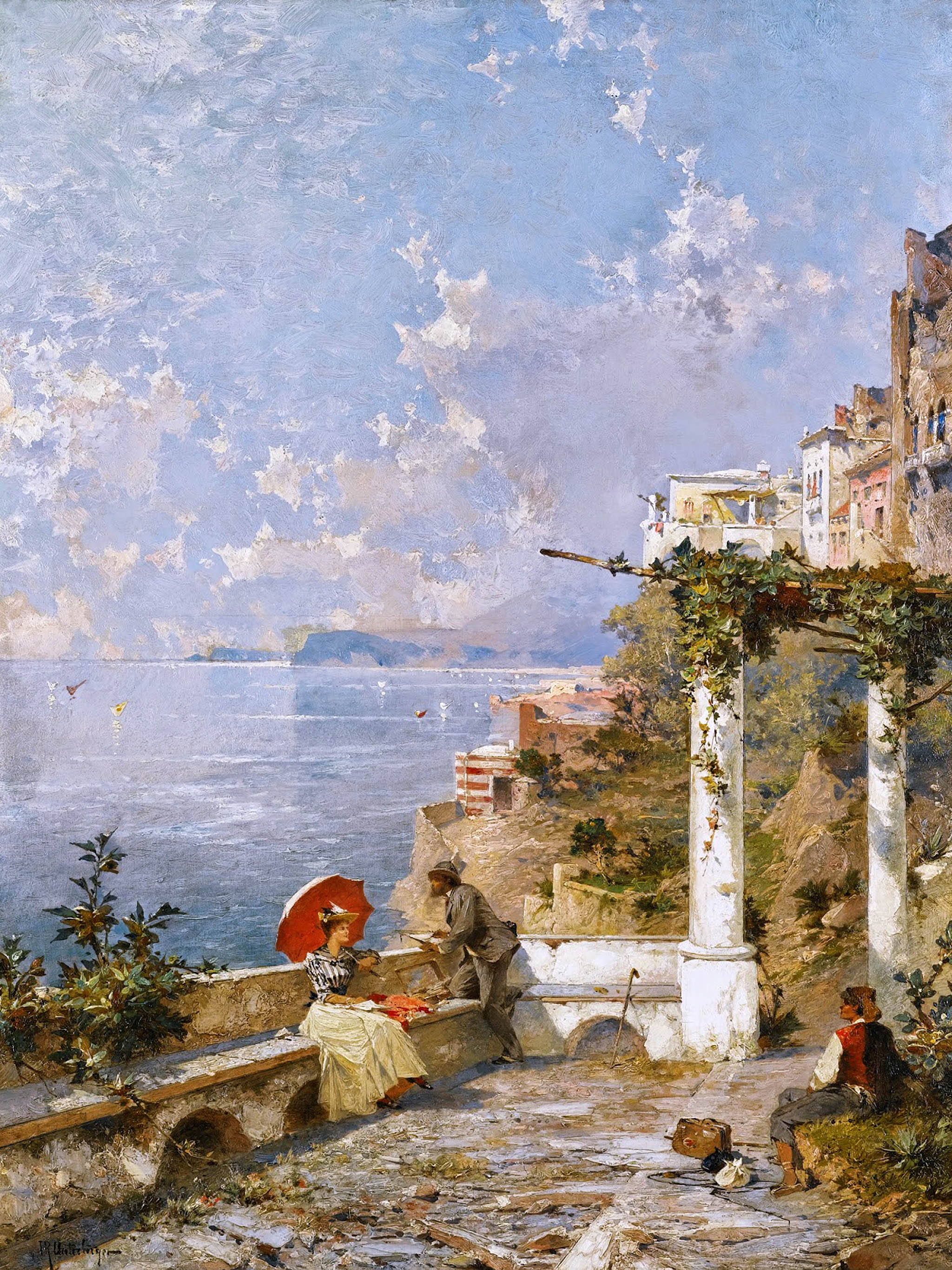 Franz Richard Unterberger - Amalfi Coast 2048x2732