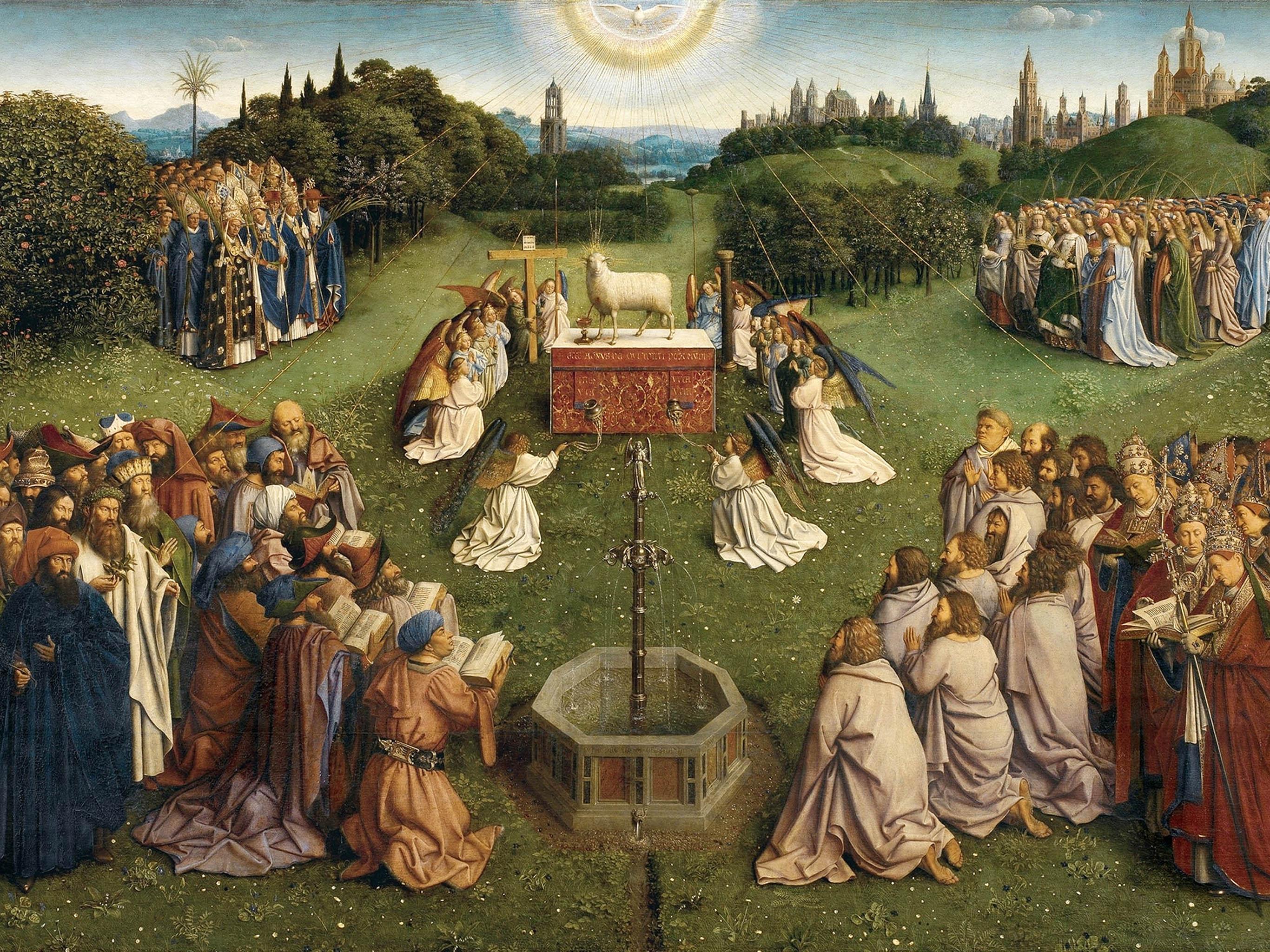 Jan van Eyck - Gents altaarstuk 2732x2048