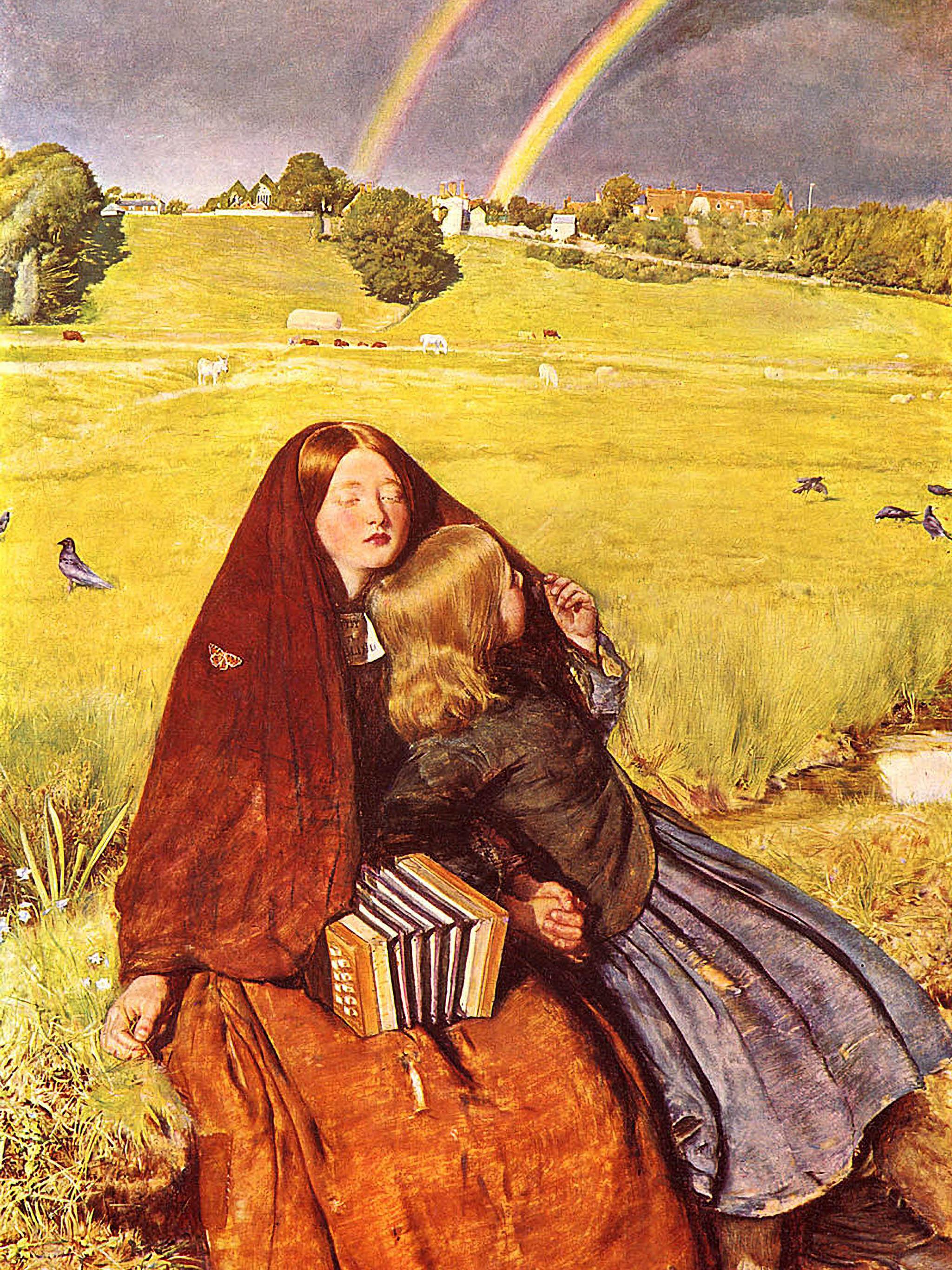 John Everett Millais - The Blind Girl 2048x2732