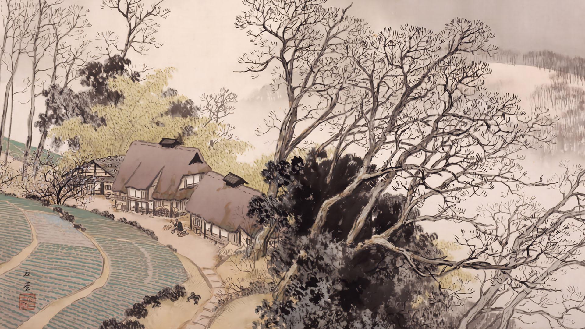 Kawai Gyokudo - Sanka soushun 1920x1080