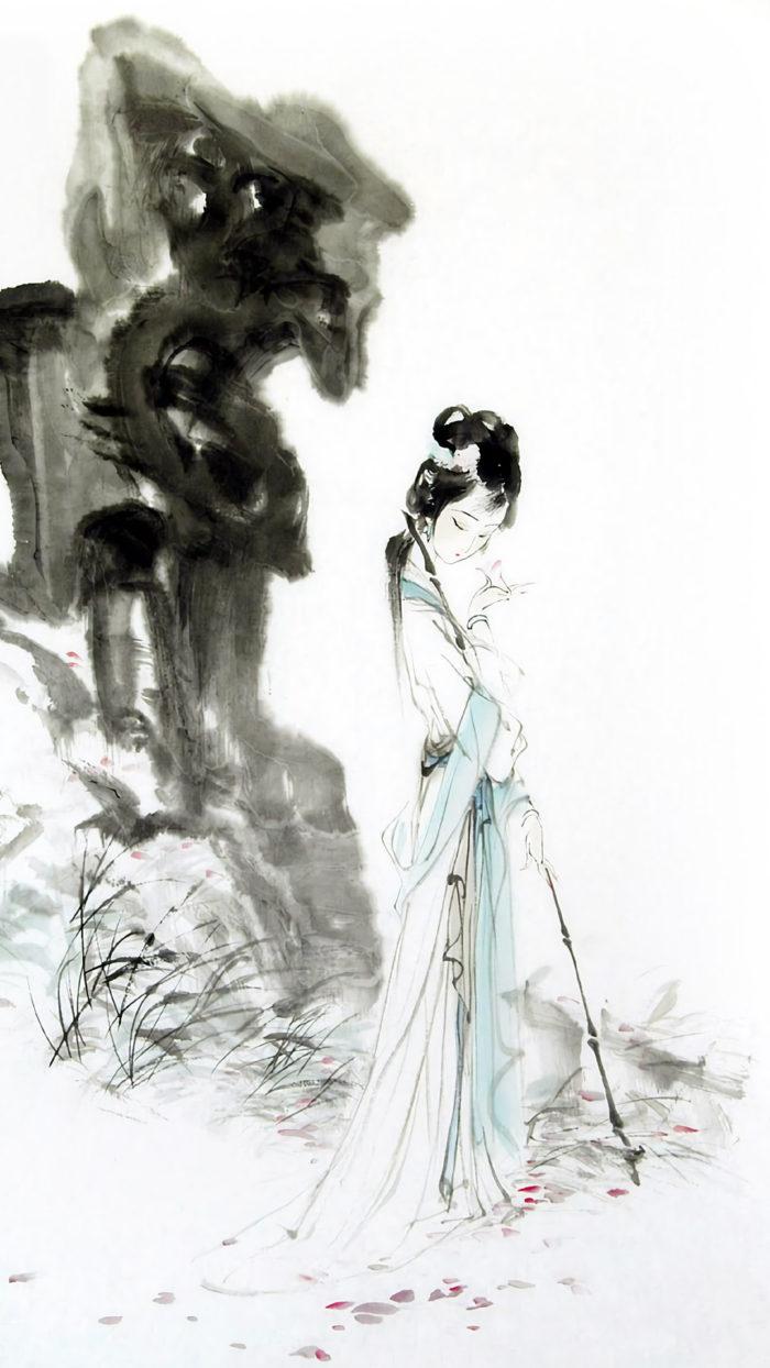 Wang Yisheng - Daiyu Zang hua 1080x1920 2