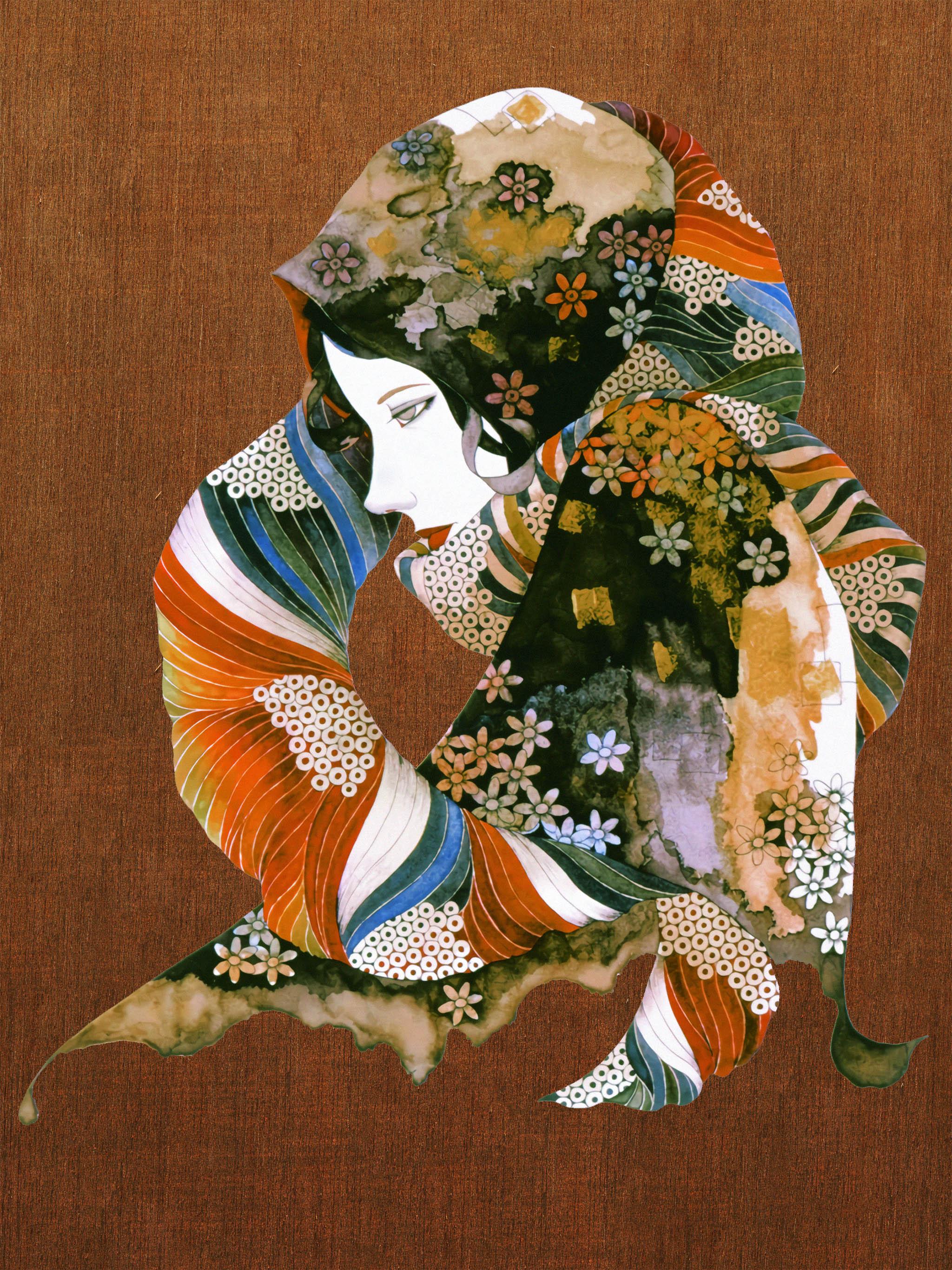 Yonekura Masakane Hana no scarf wo sita onna 2048x2732