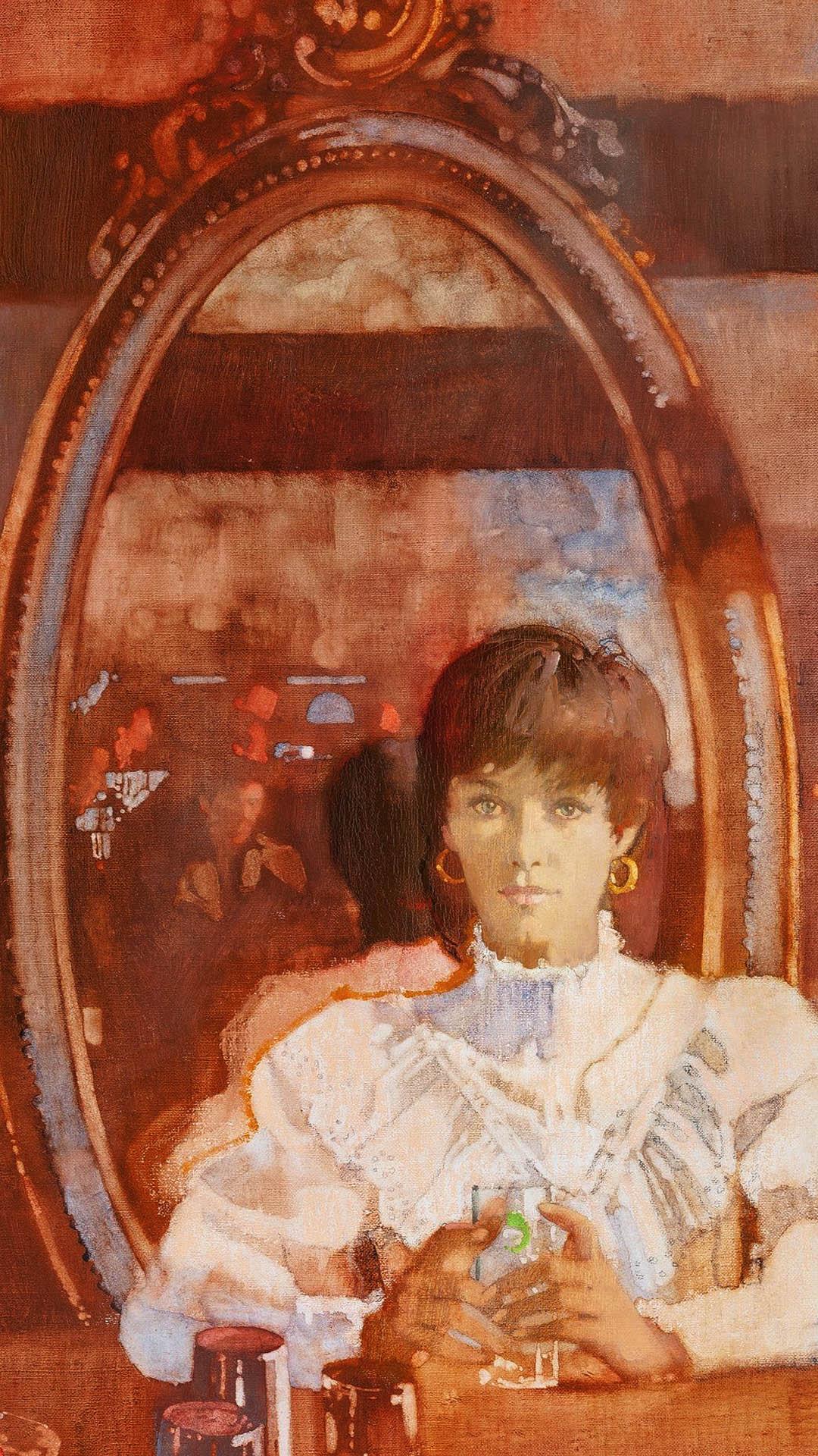 Bernie Fuchs - Woman at Bar 1080x1920