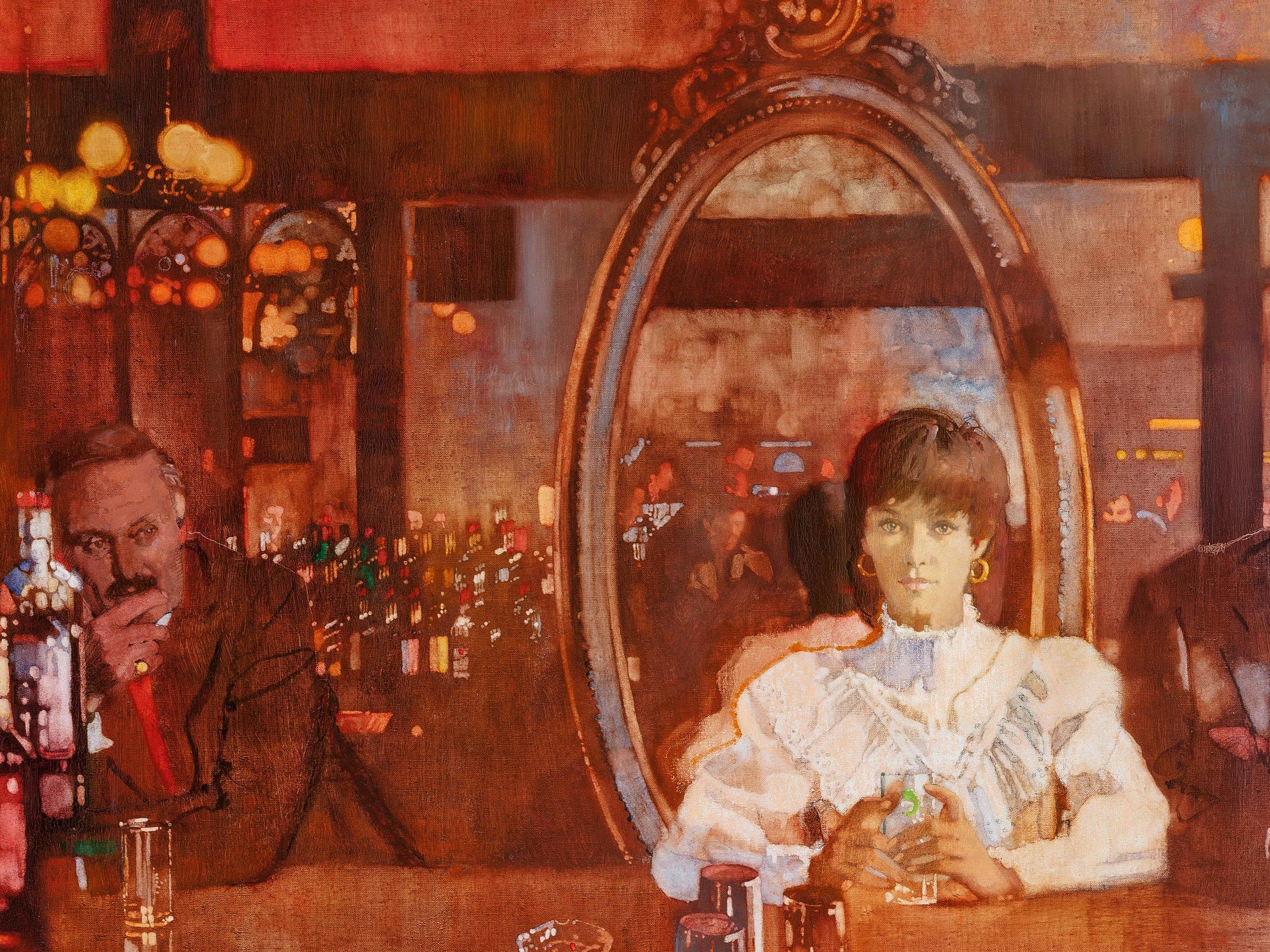 Bernie Fuchs - Woman at Bar 2732x2048