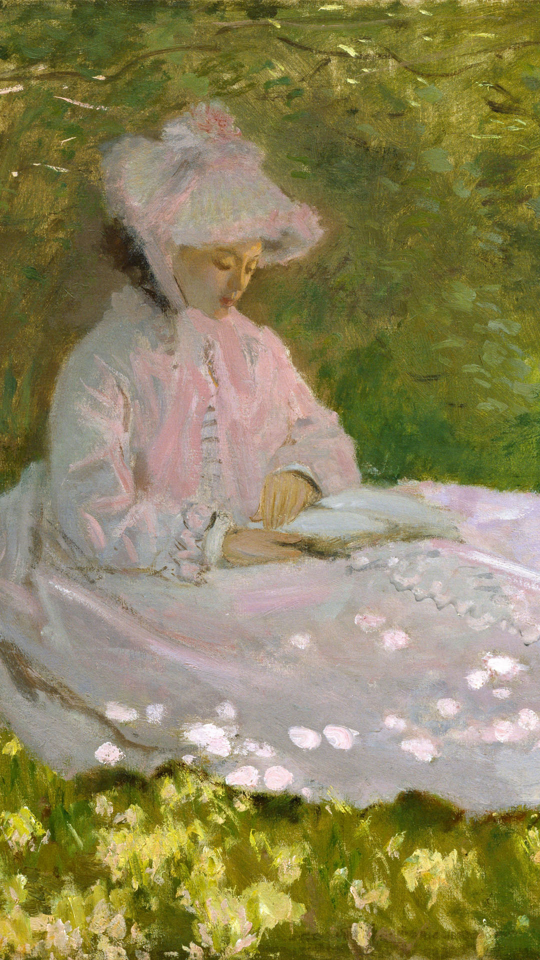 Claude Monet - Springtime 1080x1920
