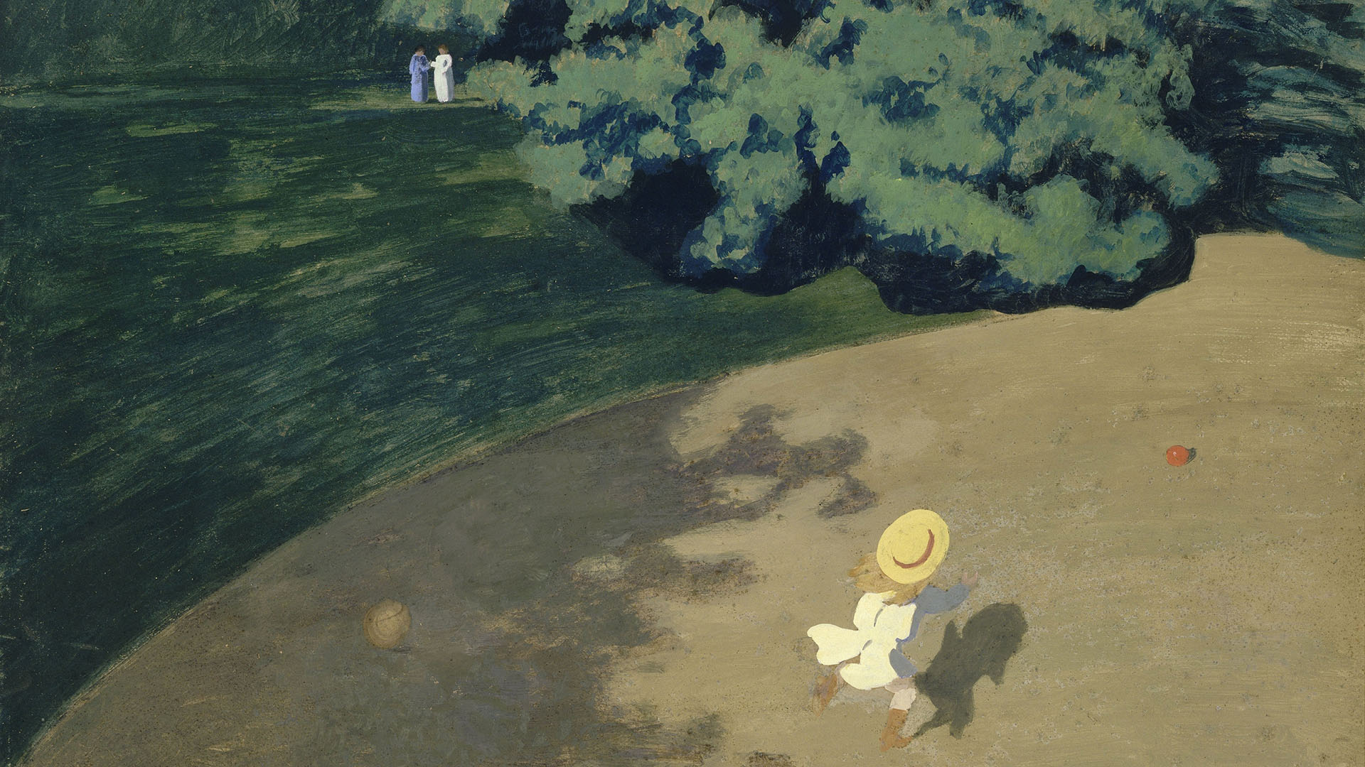 Felix Vallotton - The Ball 1920x1080