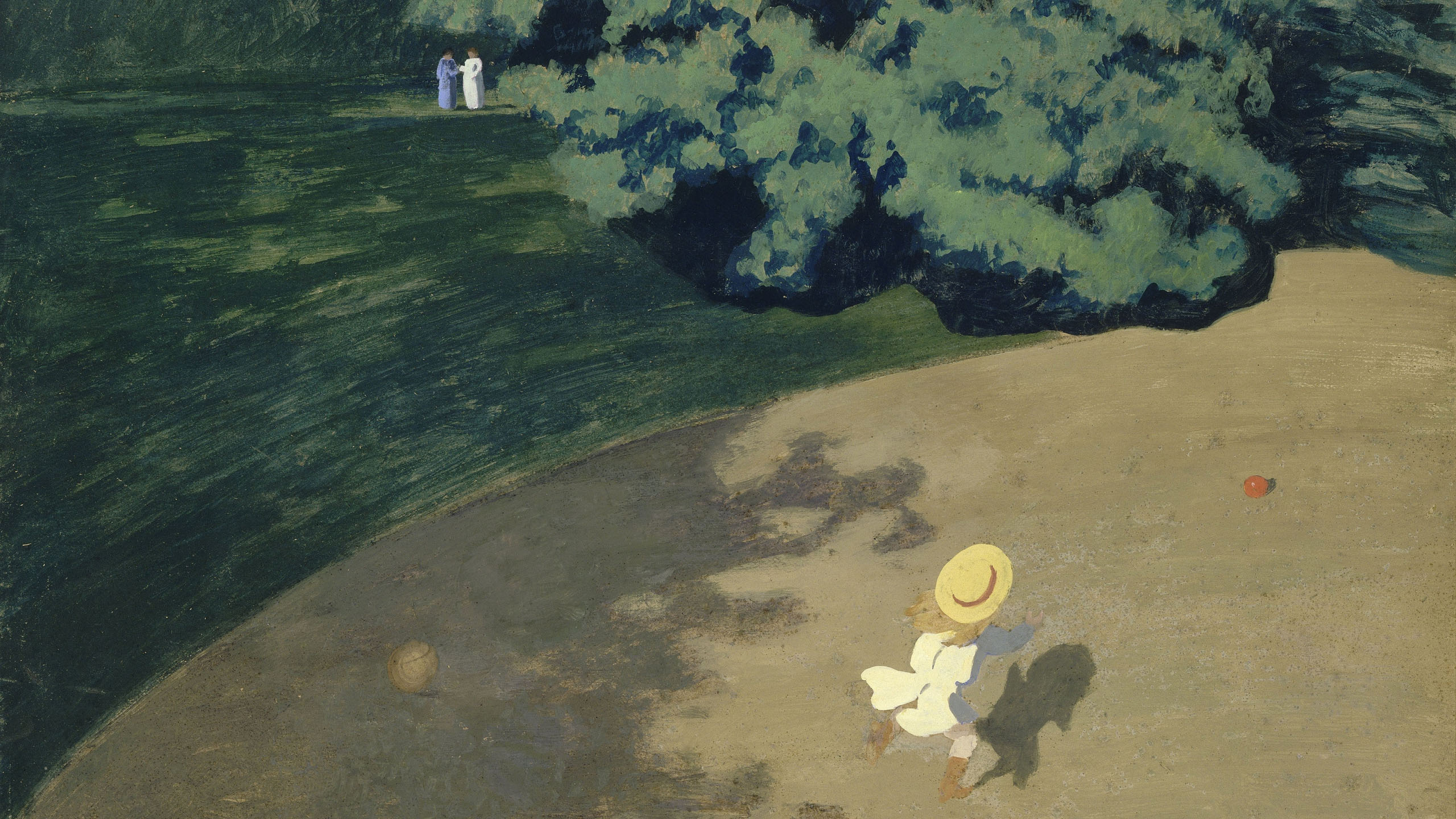 Felix Vallotton - The Ball 2560x1440