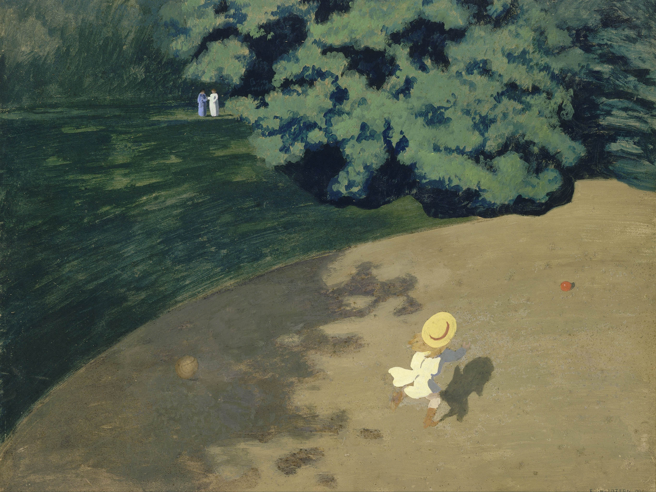 Felix Vallotton - The Ball 2732x2048