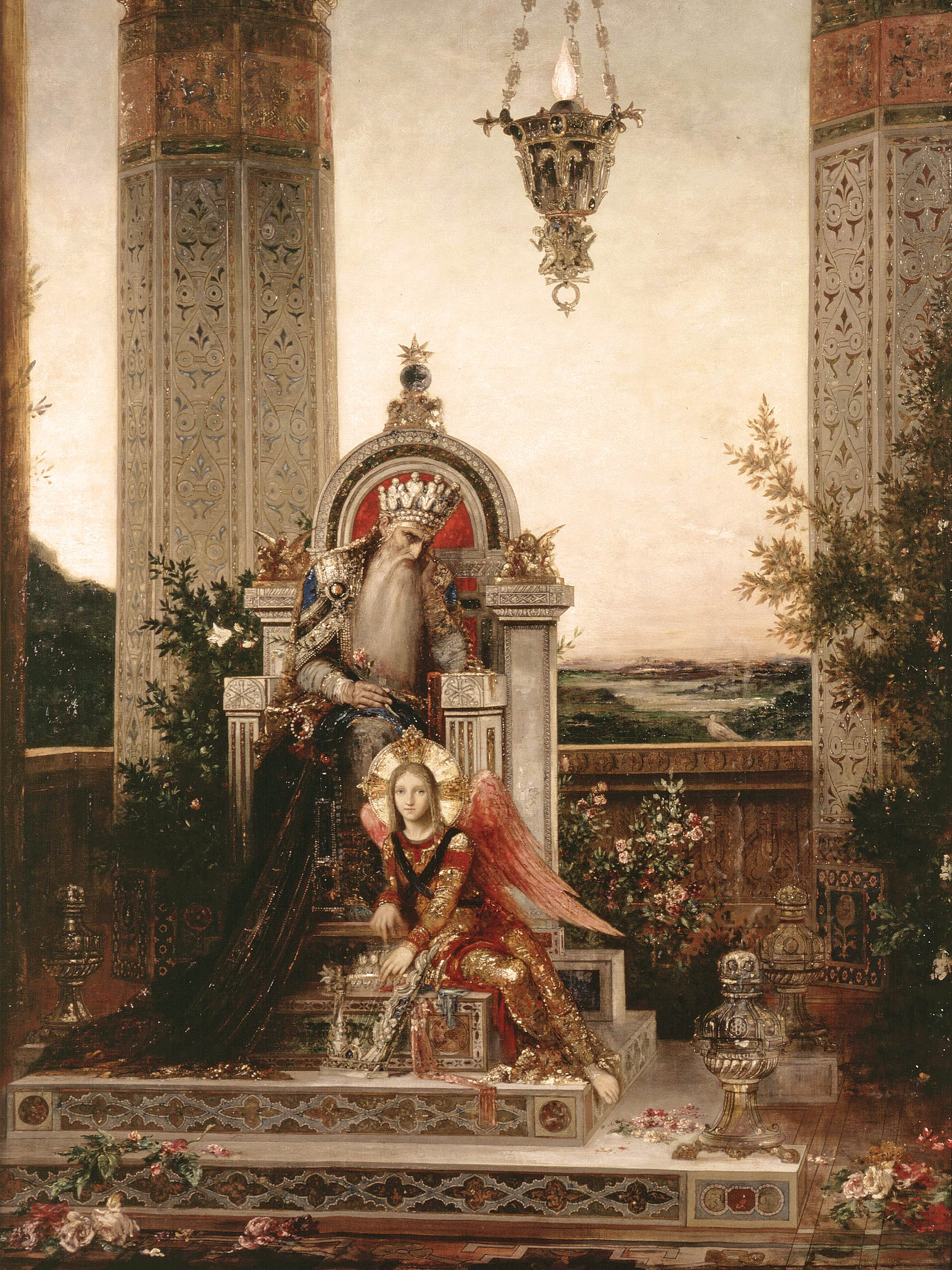 Gustave Moreau - King david 2048x2732