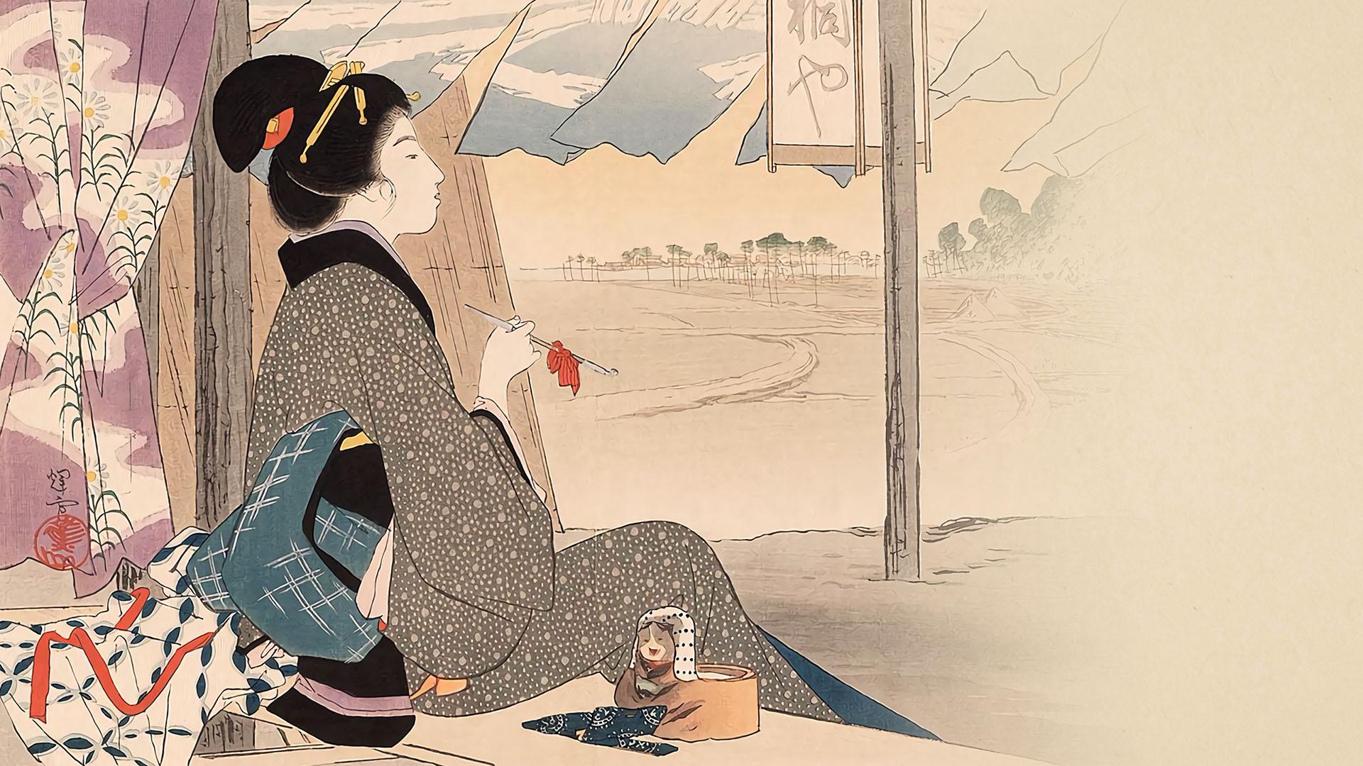 Ikeda Terukata - Chaya 1920x1080