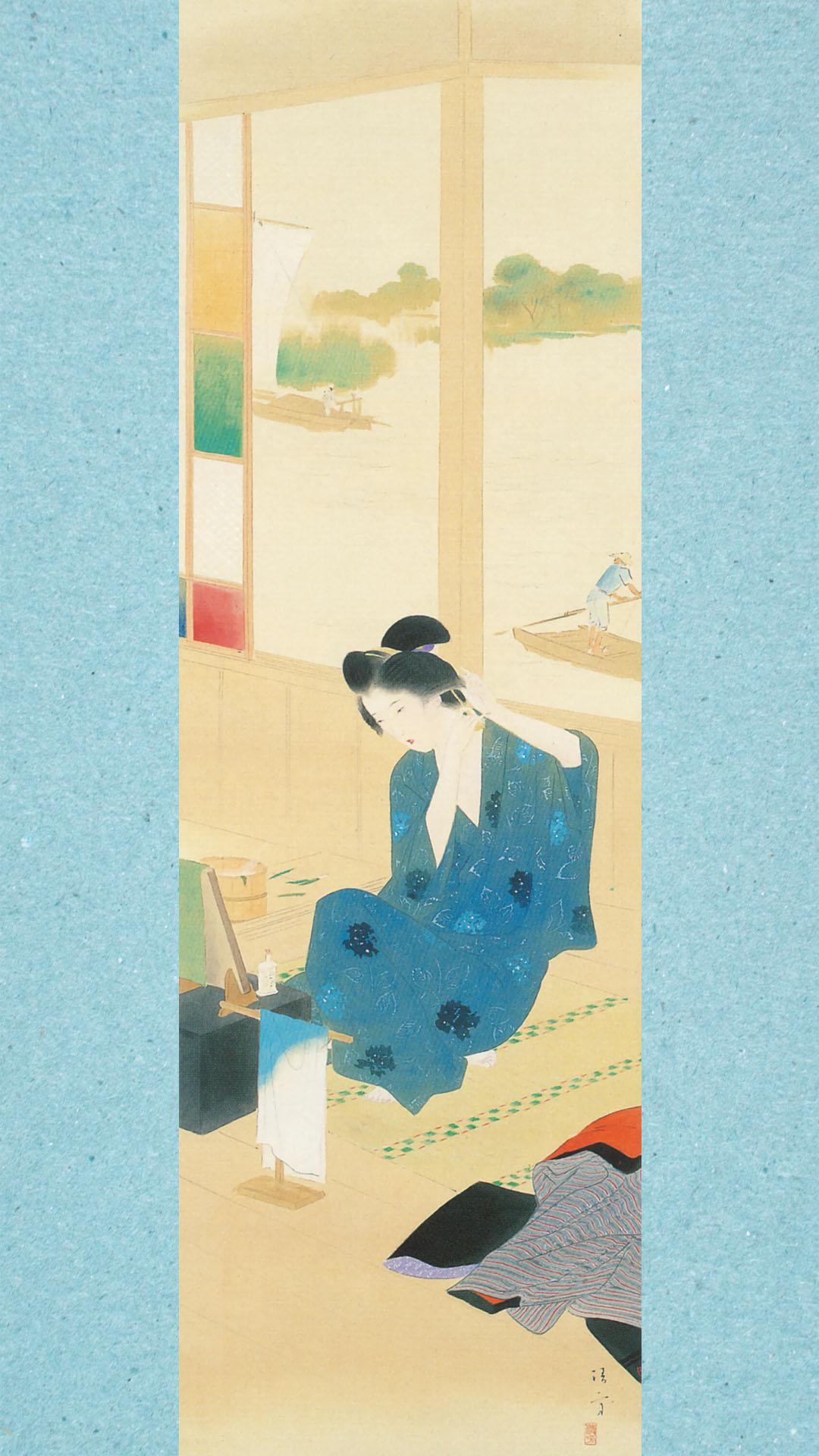 Kaburaki Kiyokata - Meiji 12 fuzoku 05 Shoubu_yu 1080x1920
