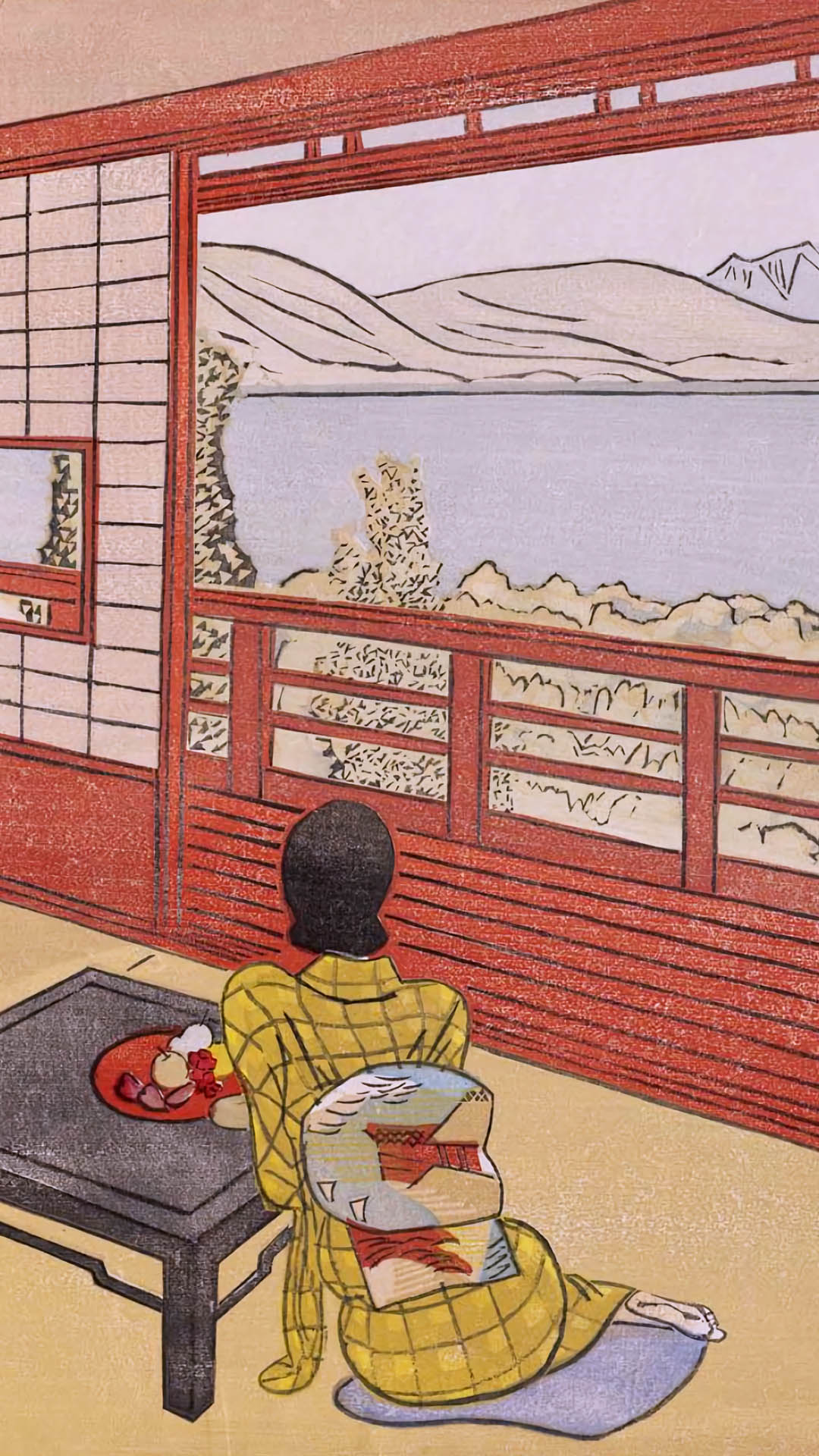 Maekawa Senpan - Umi no mieru yado 1080x1920