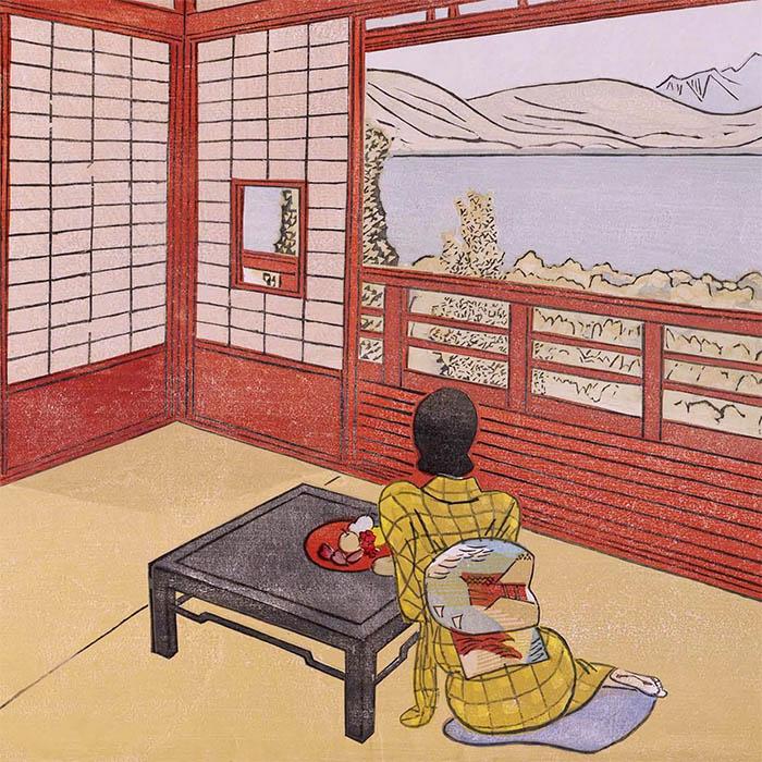 Maekawa Senpan - Umi no mieru yado d