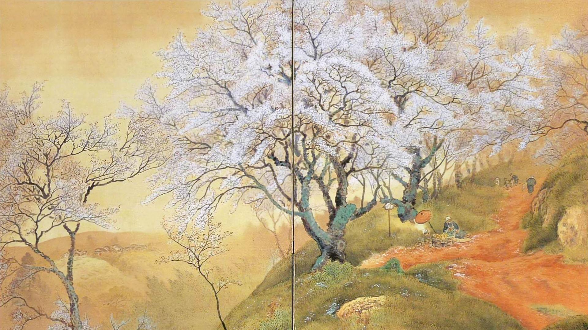 Ono Chikkyou - Hana no yama 1920x1080