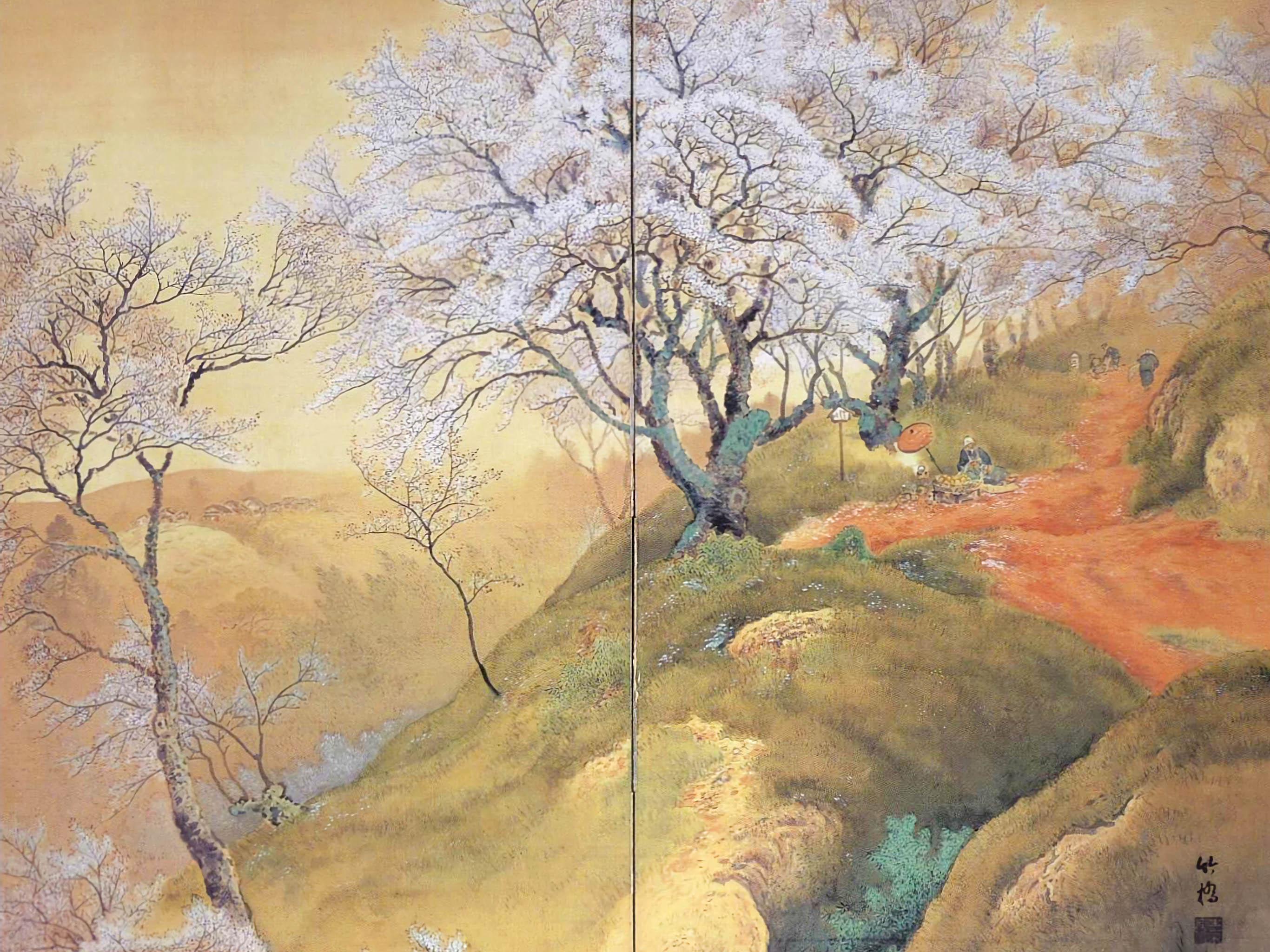 Ono Chikkyou - Hana no yama 2732x2048