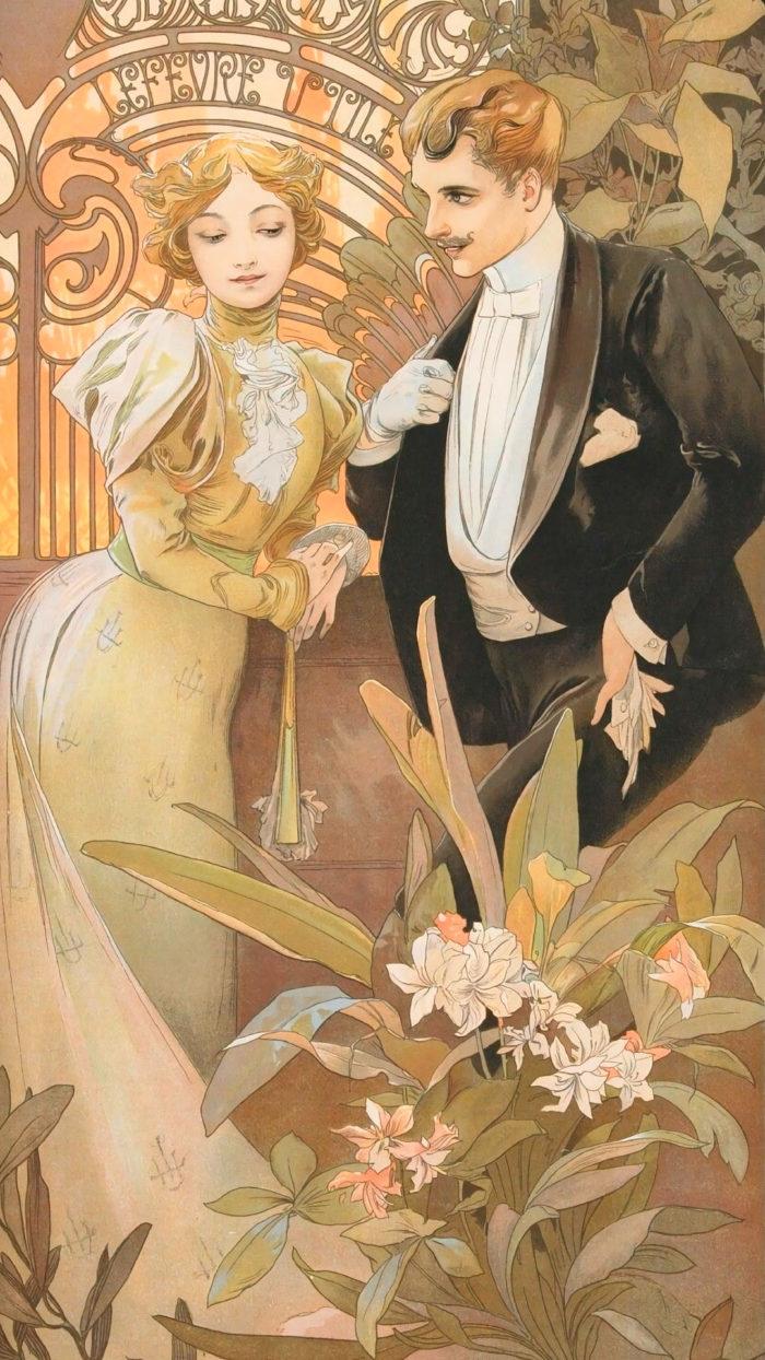 Alfons Maria Mucha - FLIRT 1080x1920 2