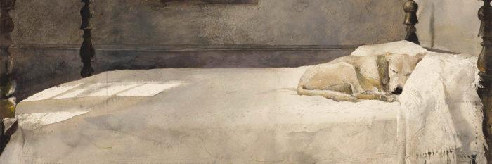 Andrew Wyeth - Master bedroom 1500x500