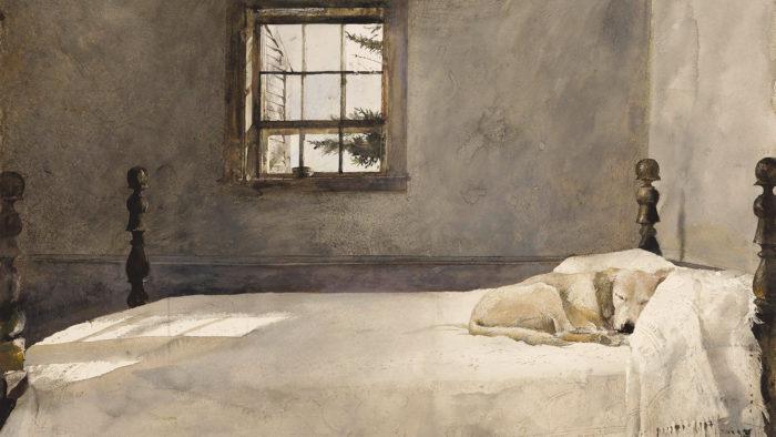 Andrew Wyeth - Master bedroom 1920x1080