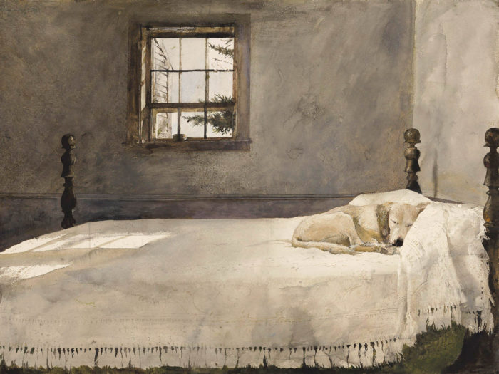 Andrew Wyeth - Master bedroom 2732x2048