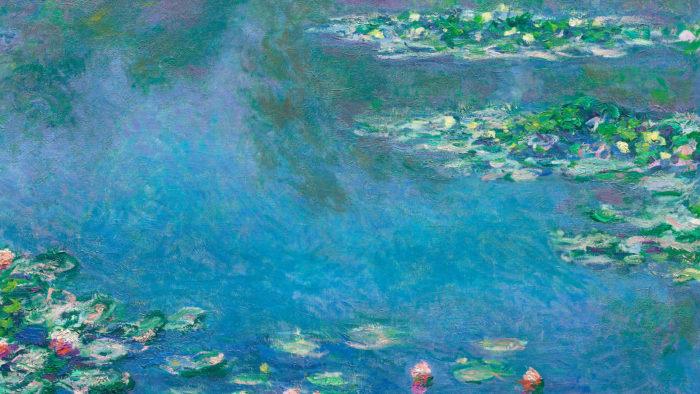 Claude Monet - Water Lilies 2560x1440