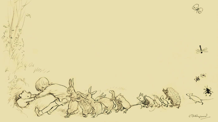 E.H-Shepard - They all pulled together 1920x1080