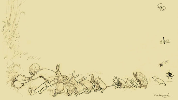 E.H-Shepard - They all pulled together 2560x1440