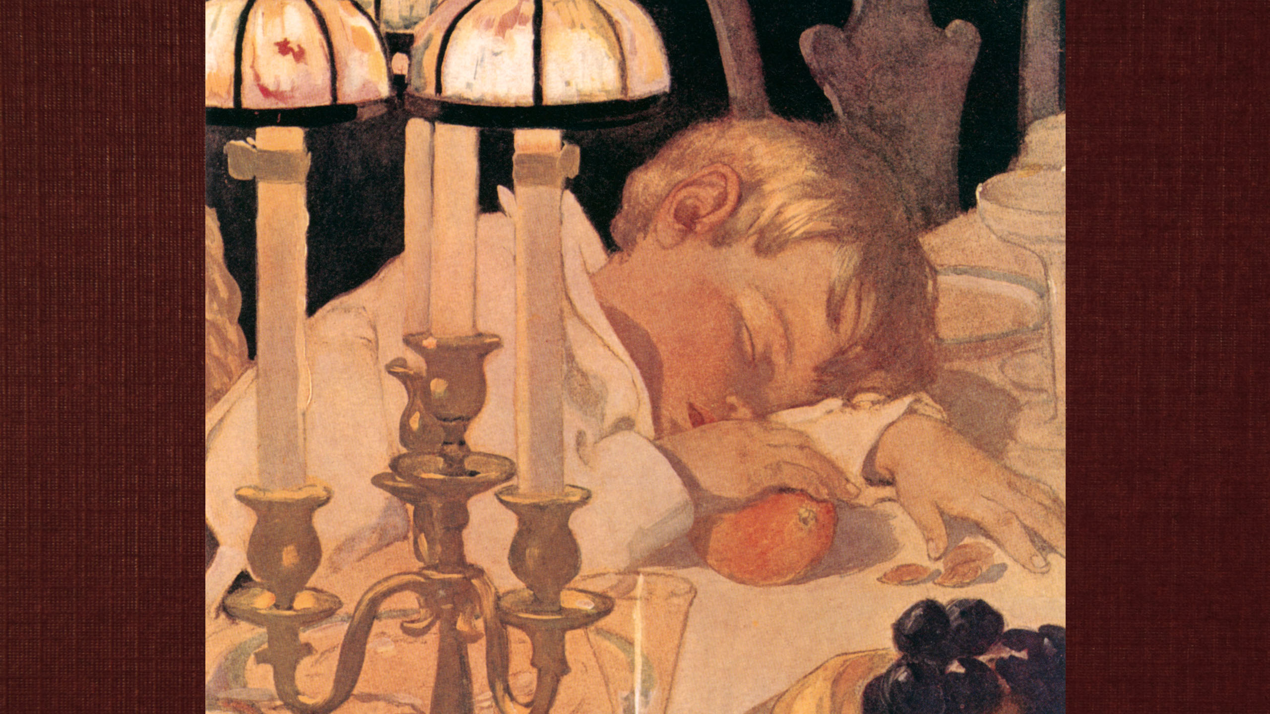 Jessie Willcox Smith - After listening to a fairy tale 2560x1440