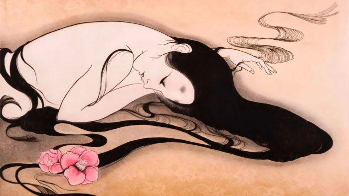 Kobayashi Donge - Chiru hana 2560x1440