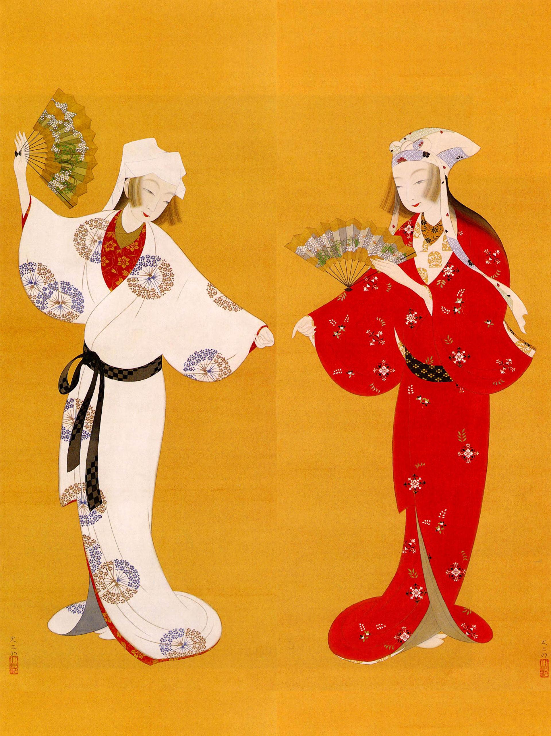 Nakamura Daizaburo - Futari maiko 2048x2732