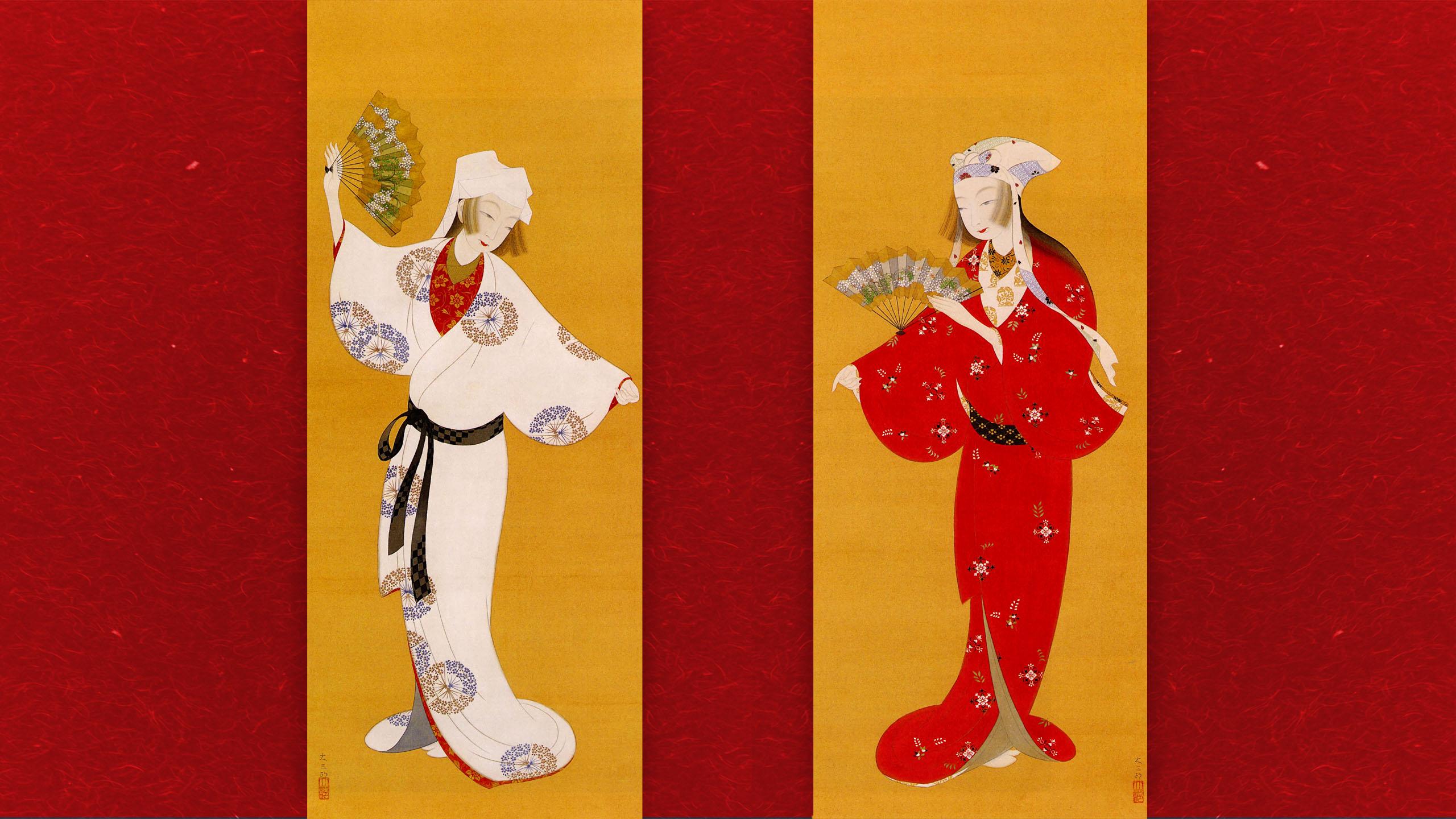 Nakamura Daizaburo - Futari maiko 2560x1440